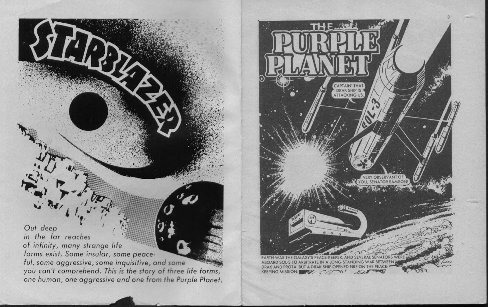 Starblazer issue 11 - Page 2