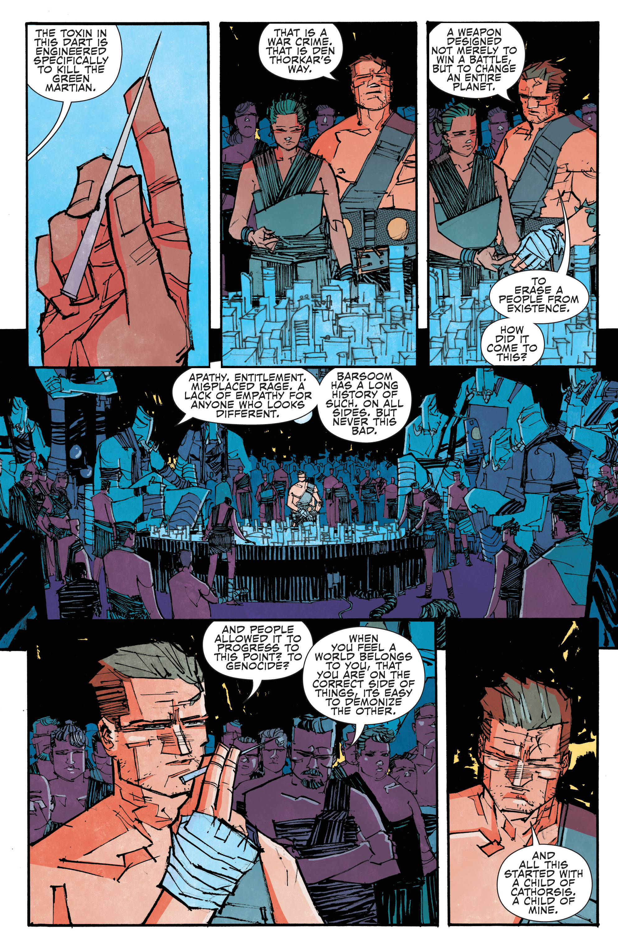 Read online John Carter: The End comic -  Issue #4 - 7