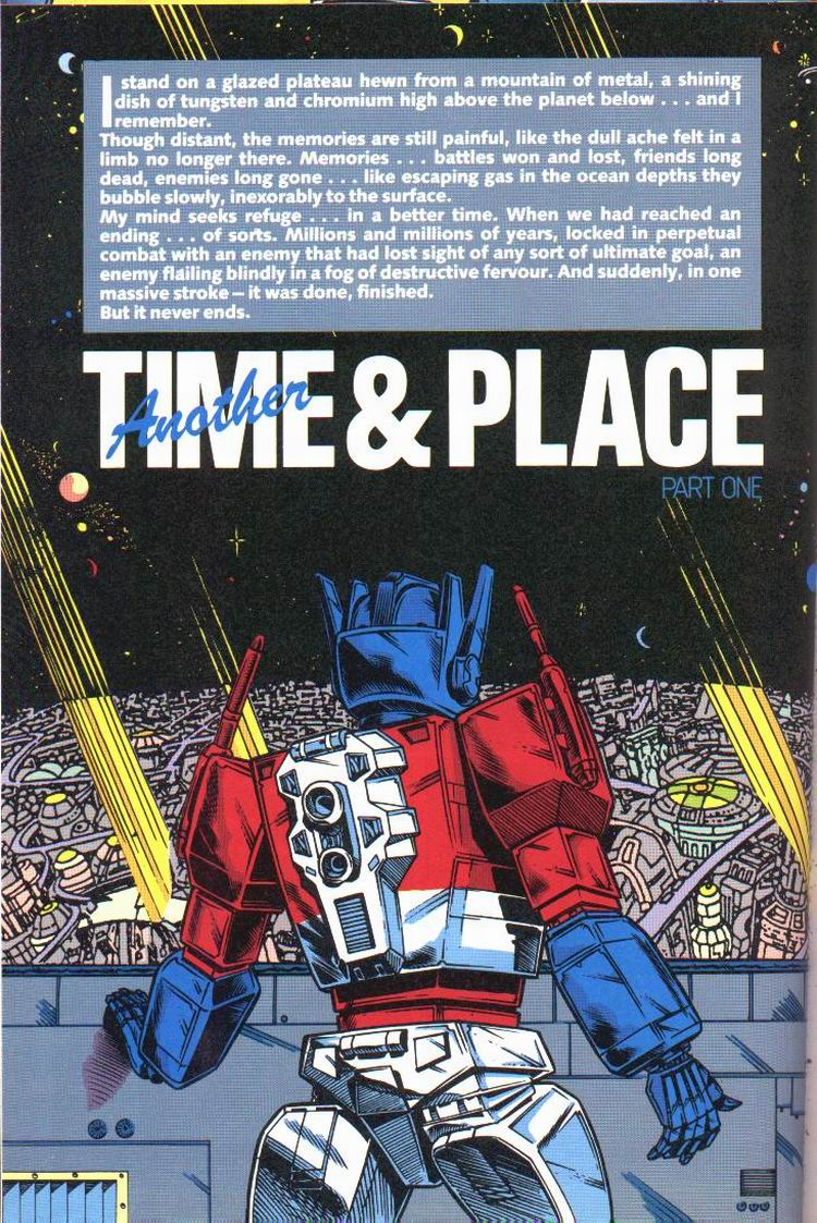 The Transformers Annual 1991 Page 2
