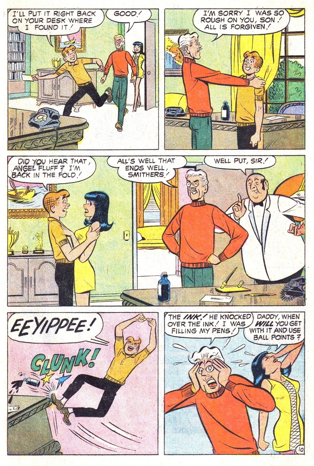 Read online Archie (1960) comic -  Issue #193 - 23