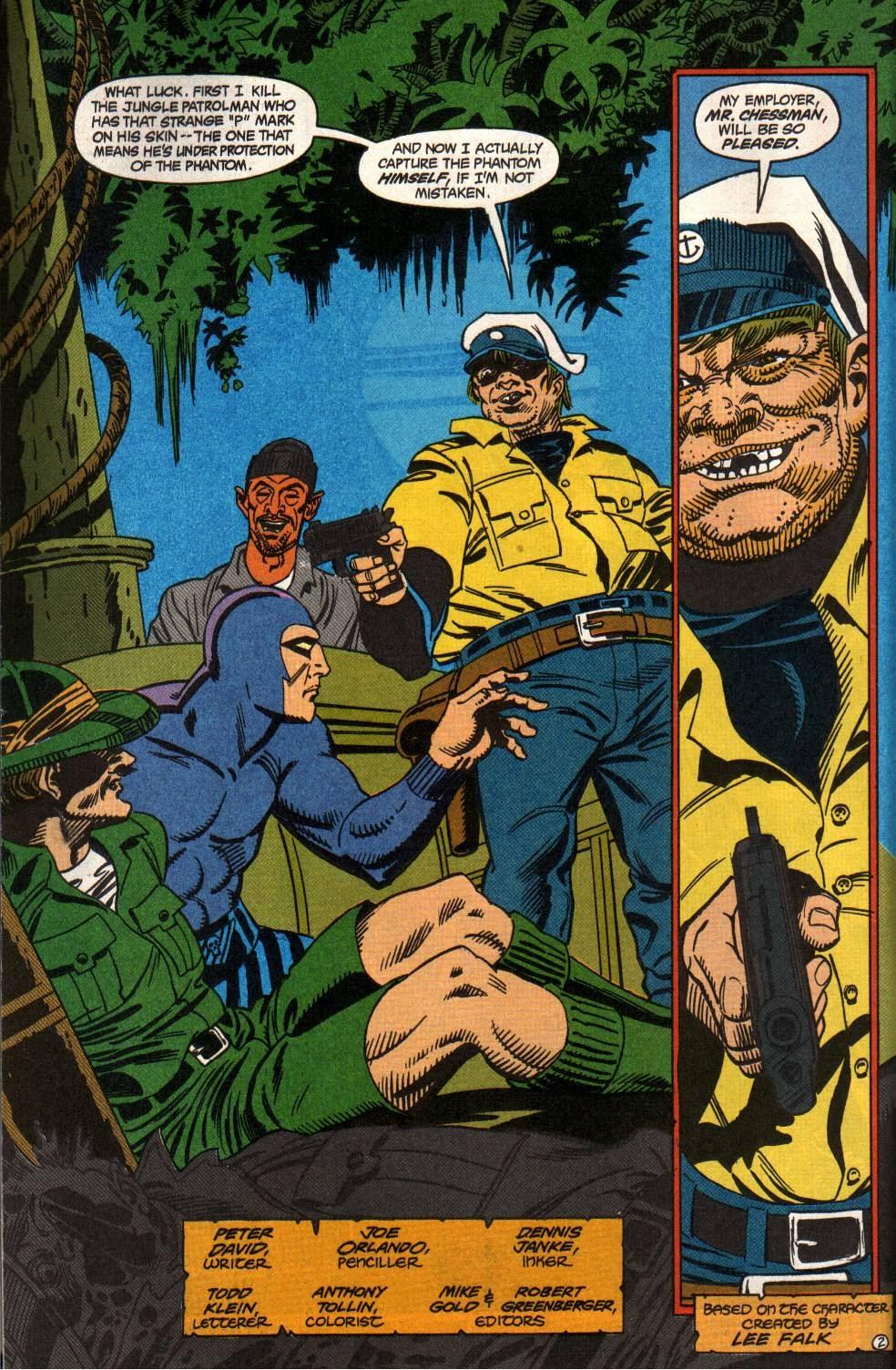 Read online The Phantom (1988) comic -  Issue #2 - 4