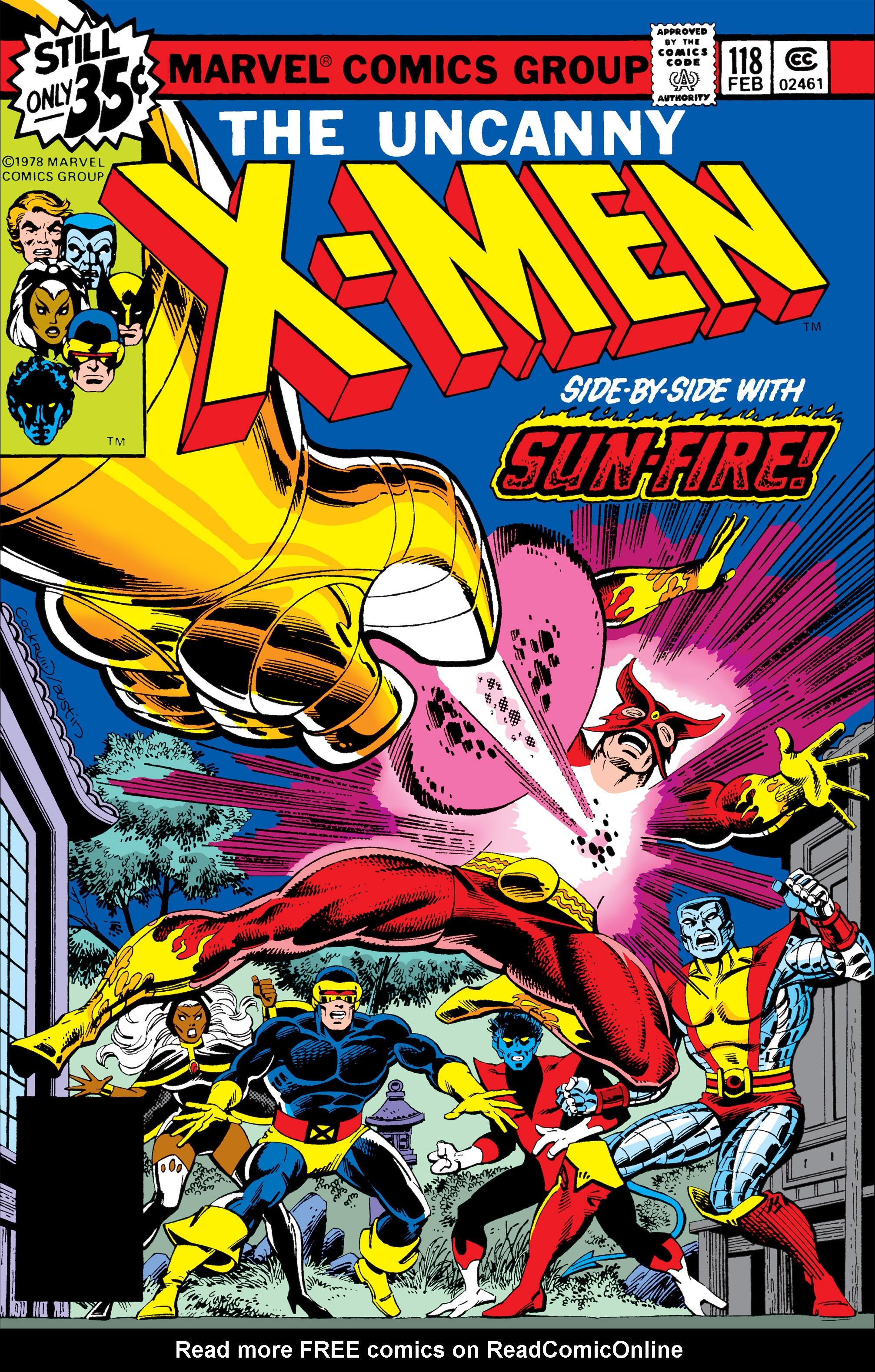Uncanny X-Men (1963) 118 Page 1