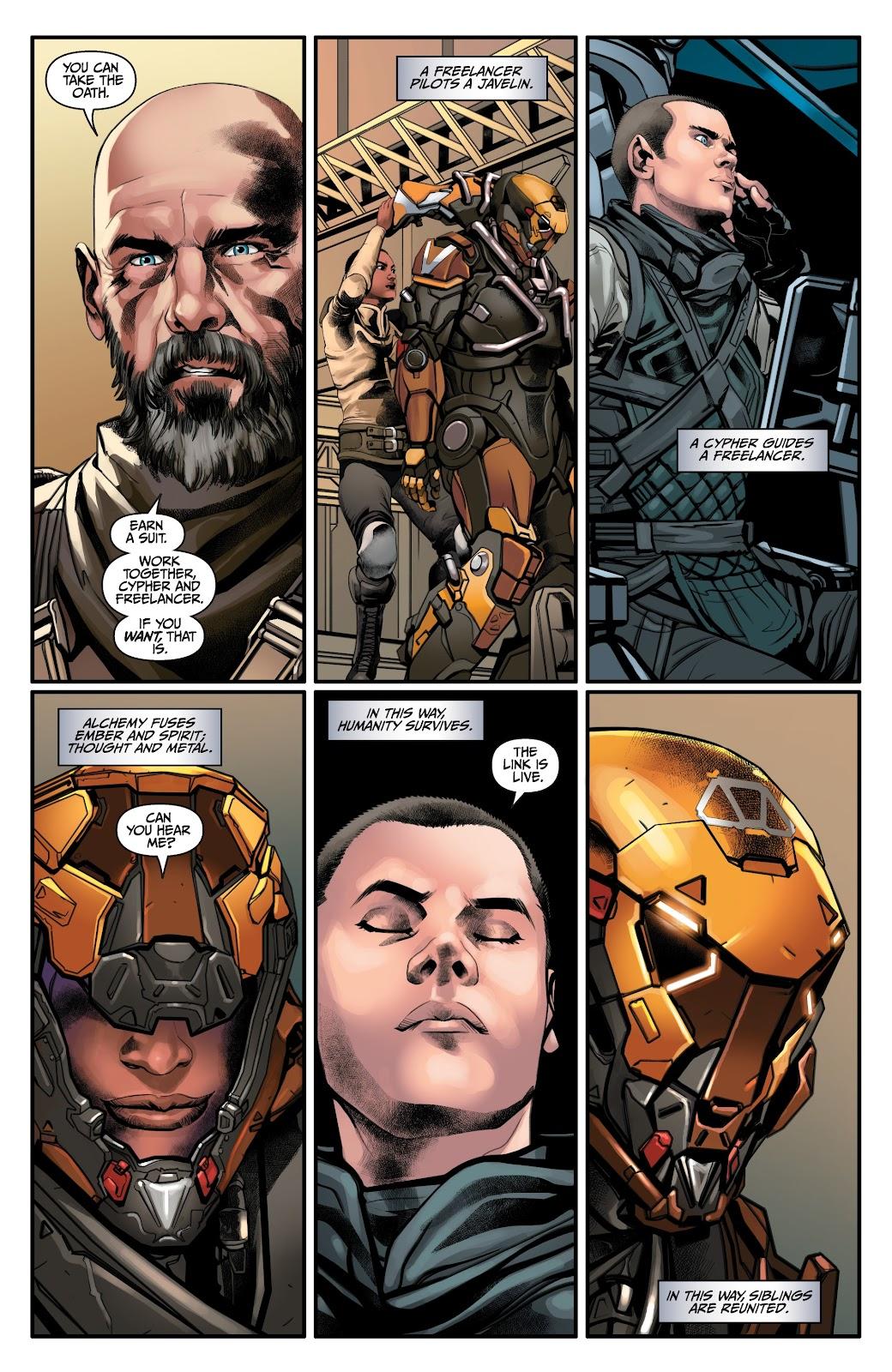 Read online Anthem comic -  Issue #2 - 21