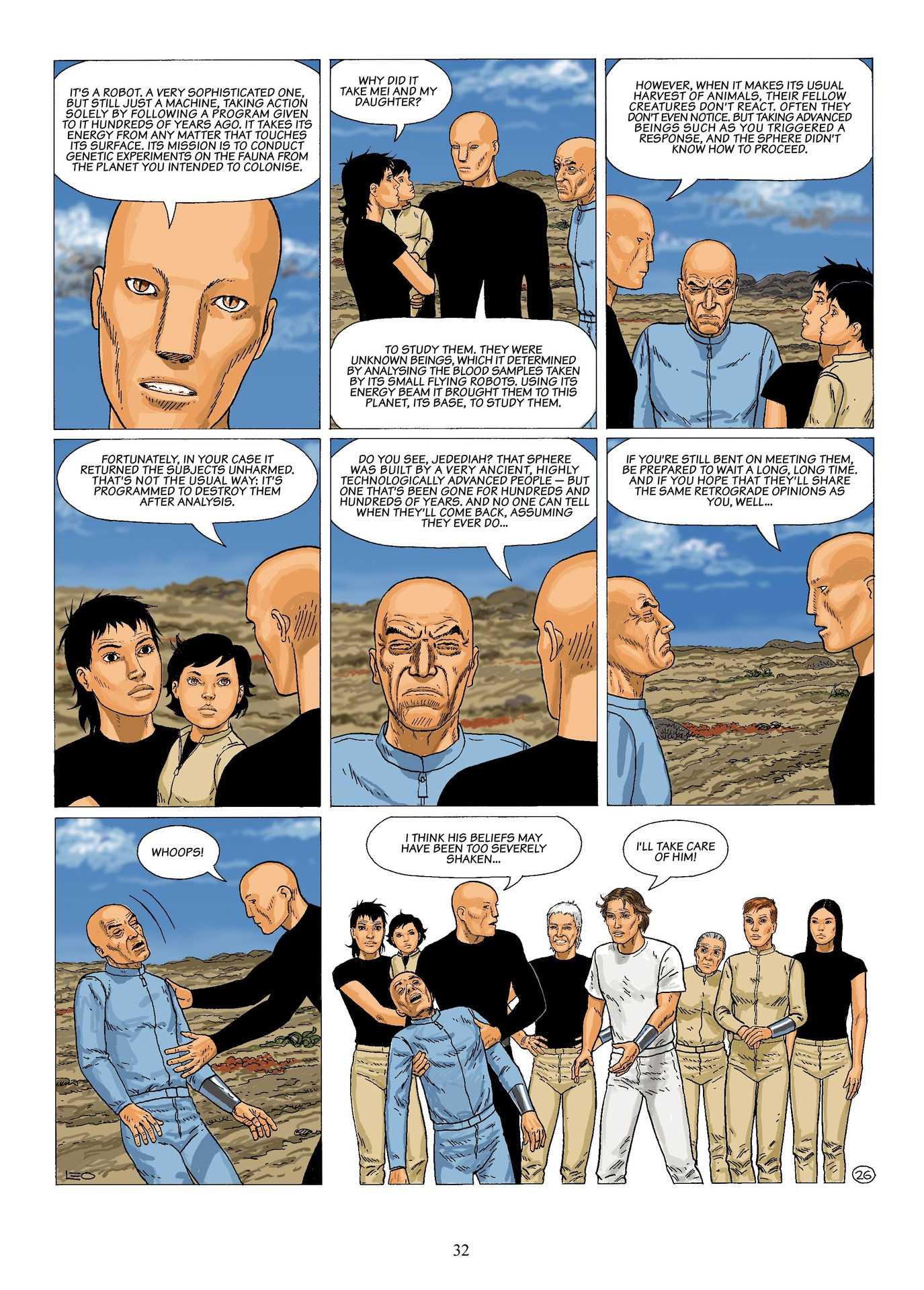 Read online Antares comic -  Issue #6 - 34