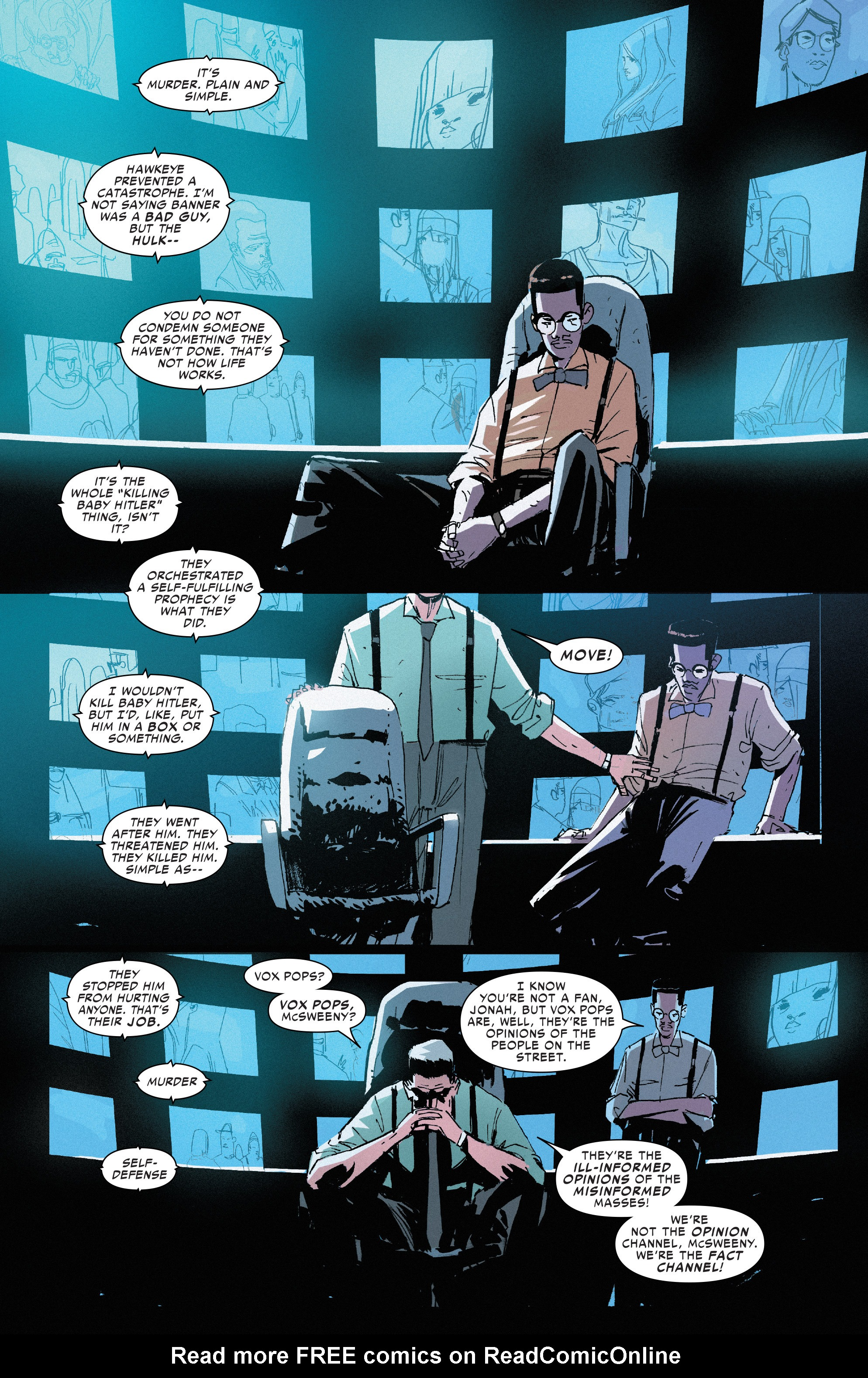 Read online Civil War II: Choosing Sides comic -  Issue #3 - 11