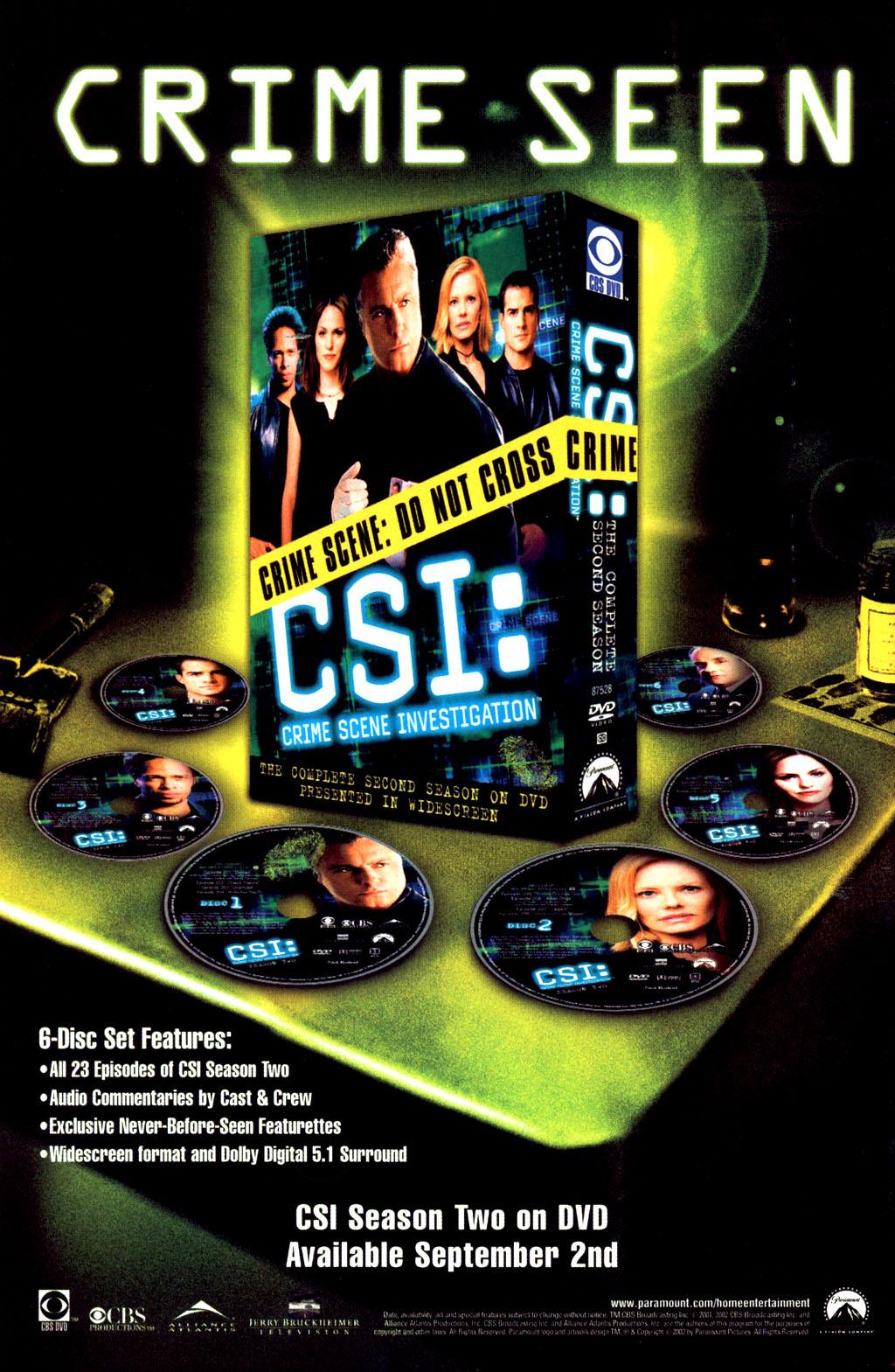 Read online CSI: Crime Scene Investigation: Bad Rap comic -  Issue #2 - 32