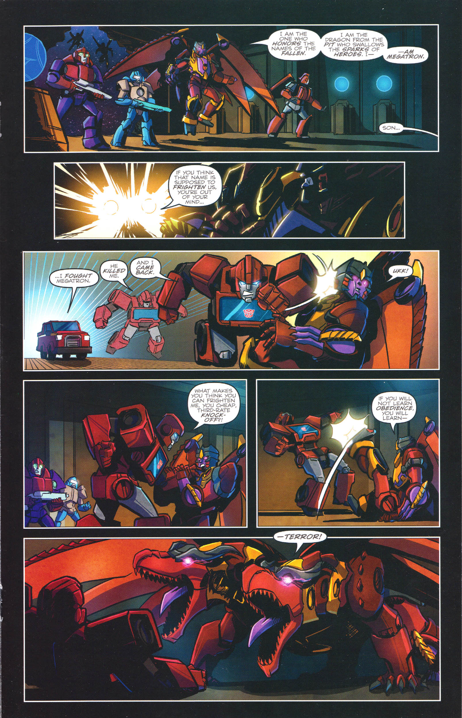 Read online Transformers: Dawn of the Predacus comic -  Issue # Full - 16