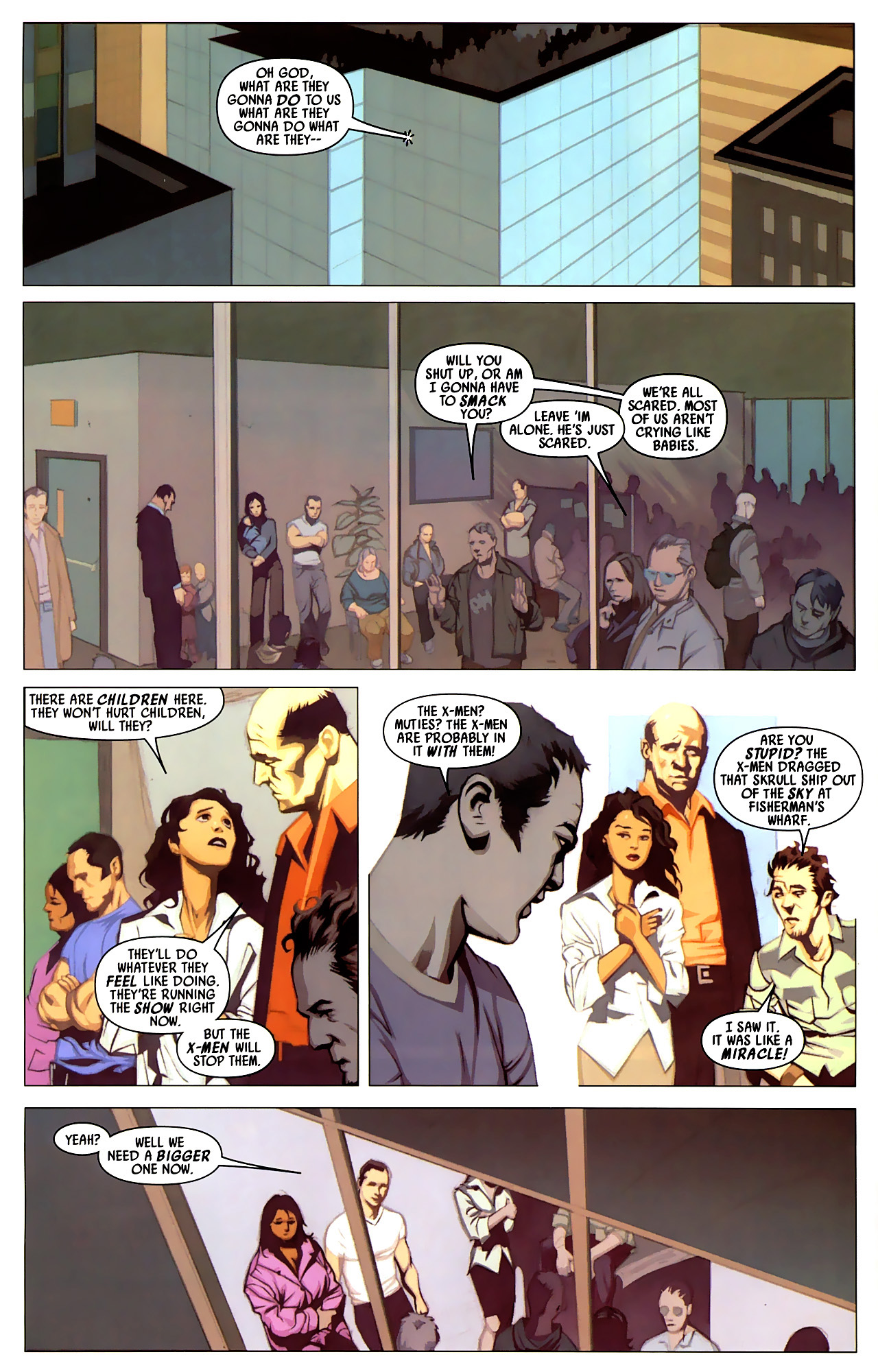 Read online Secret Invasion: X-Men comic -  Issue #4 - 7