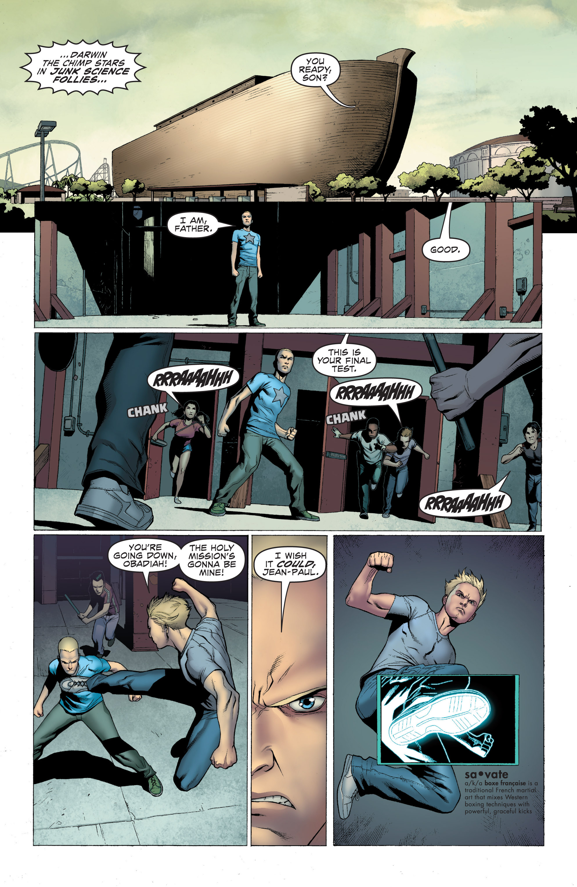 Read online Archer and Armstrong comic -  Issue #Archer and Armstrong _TPB 1 - 13
