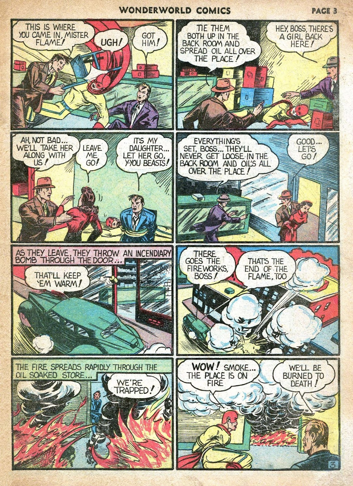 Wonderworld Comics issue 21 - Page 2