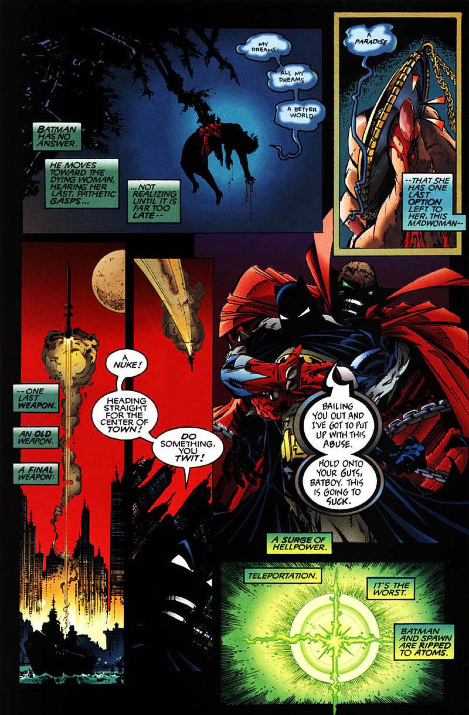 Read online Spawn-Batman comic -  Issue # Full - 51
