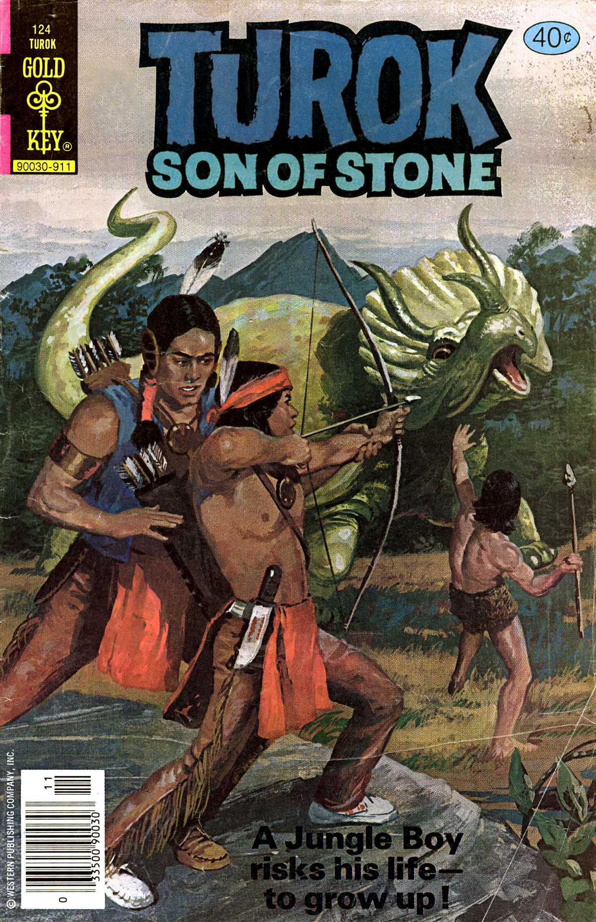 Read online Turok, Son of Stone comic -  Issue #124 - 1