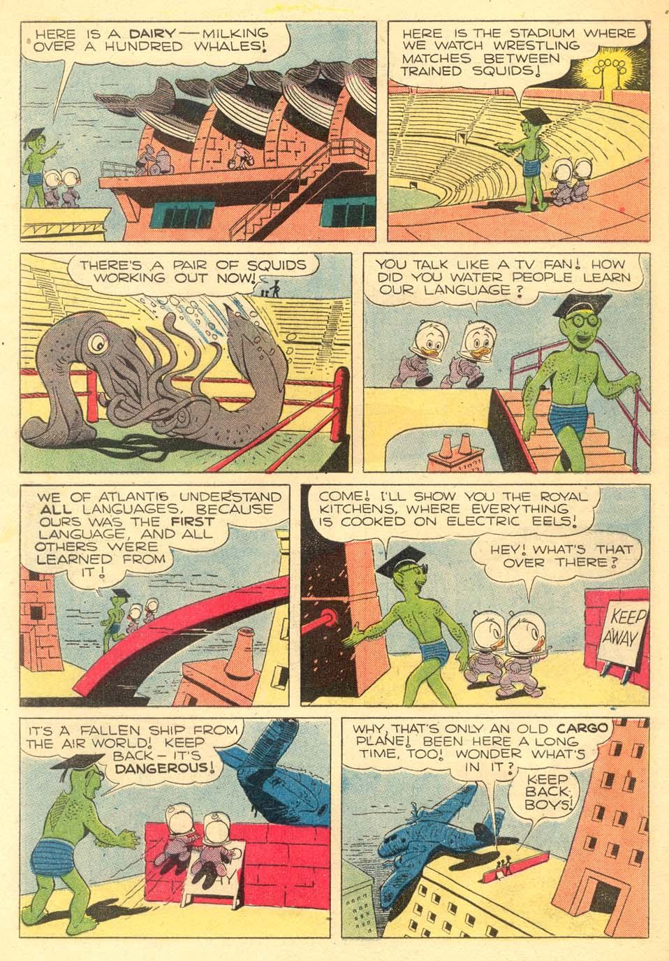 Read online Uncle Scrooge (1953) comic -  Issue #5 - 28