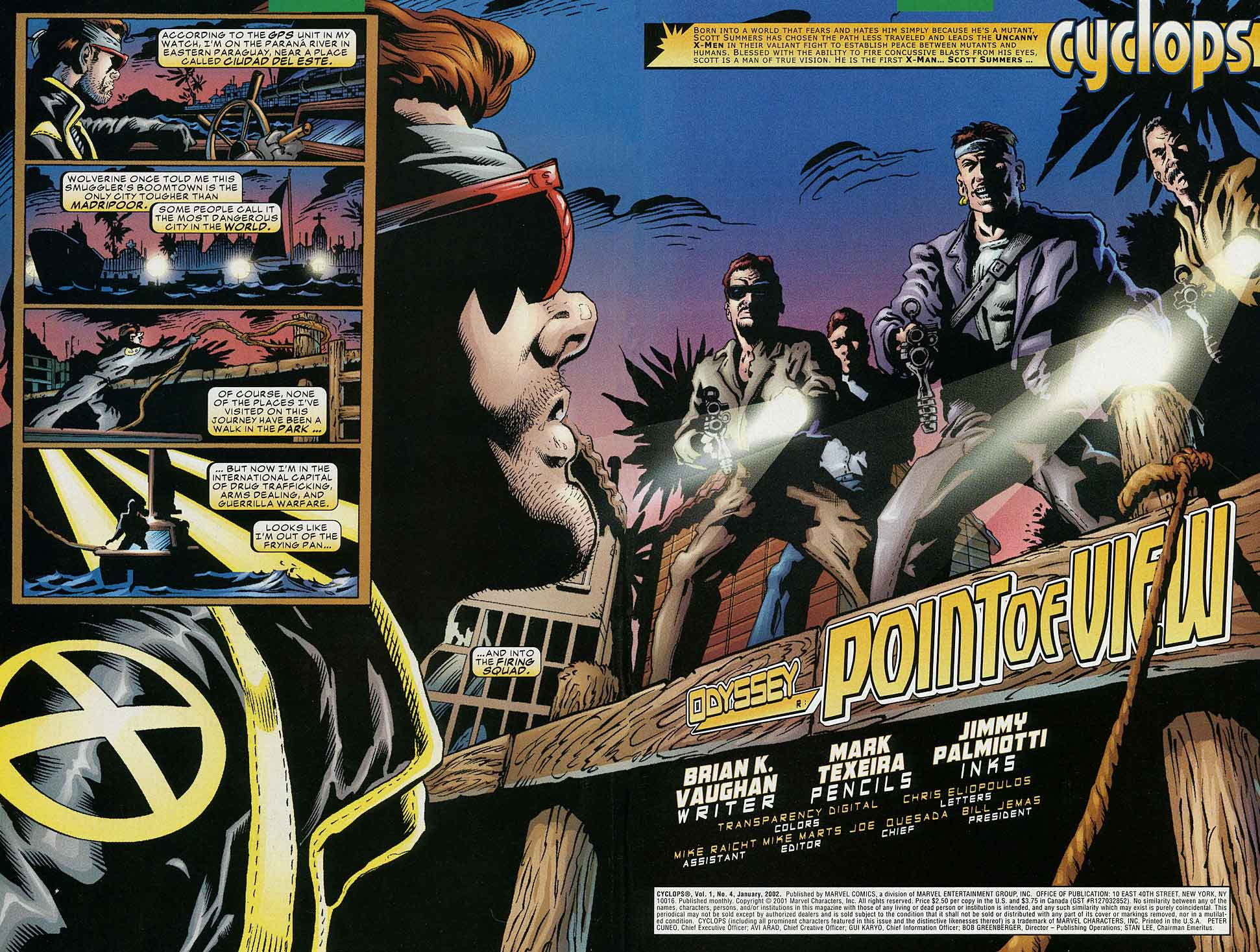 Read online Cyclops (2001) comic -  Issue #4 - 3