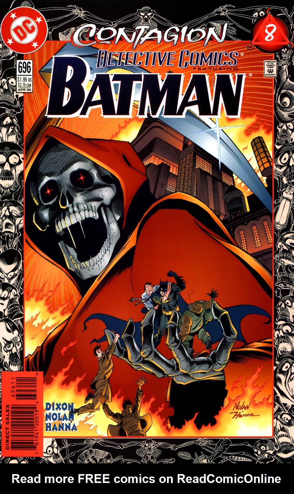 Batman: Contagion 8 Page 1