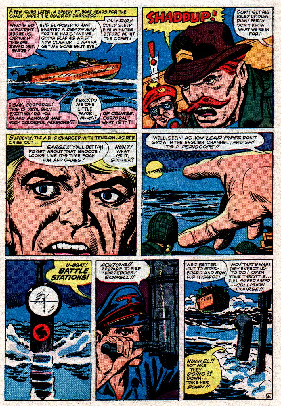 Read online Sgt. Fury comic -  Issue #8 - 10