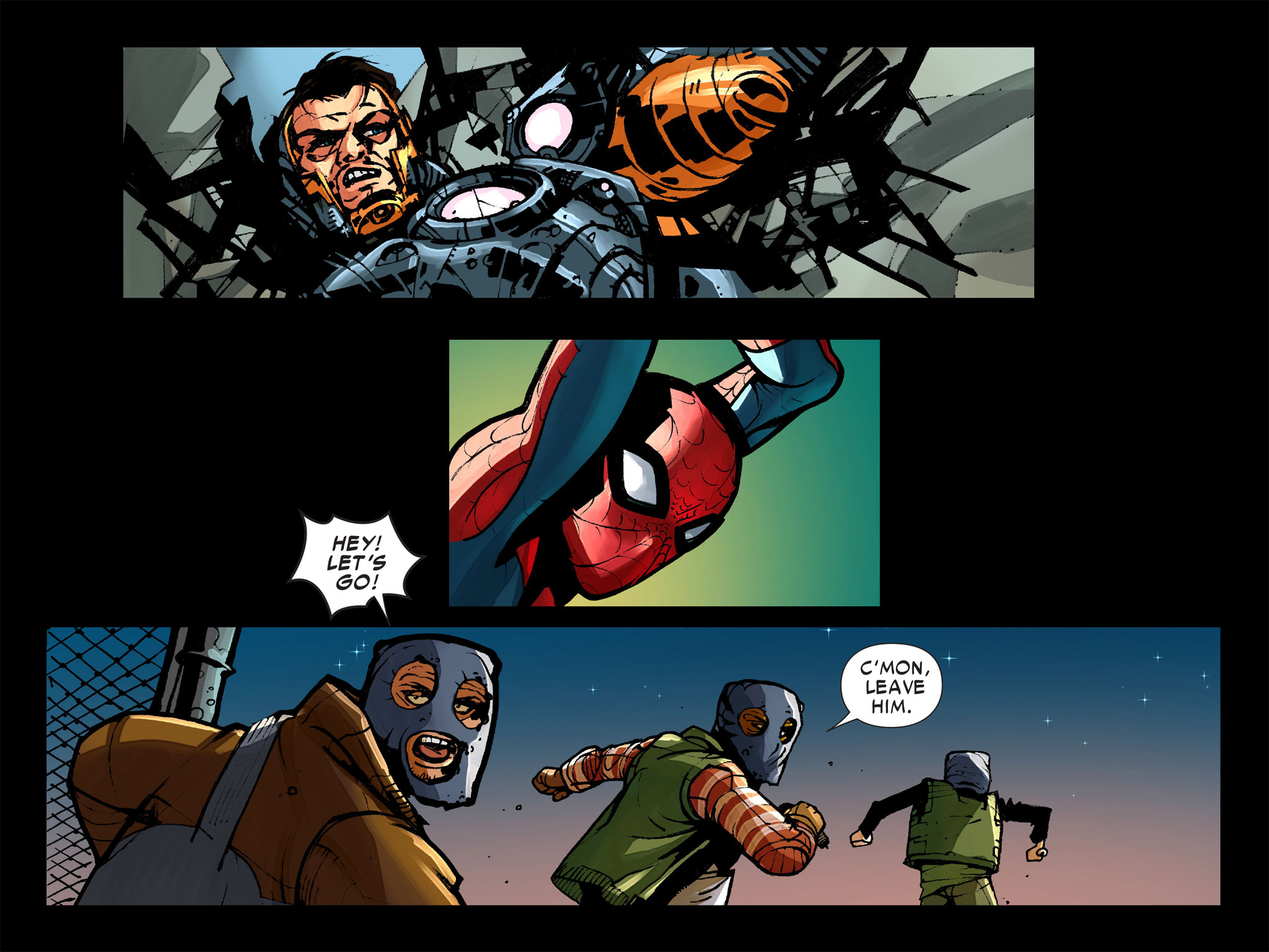 Read online Amazing Spider-Man: Who Am I? comic -  Issue # Full (Part 1) - 168