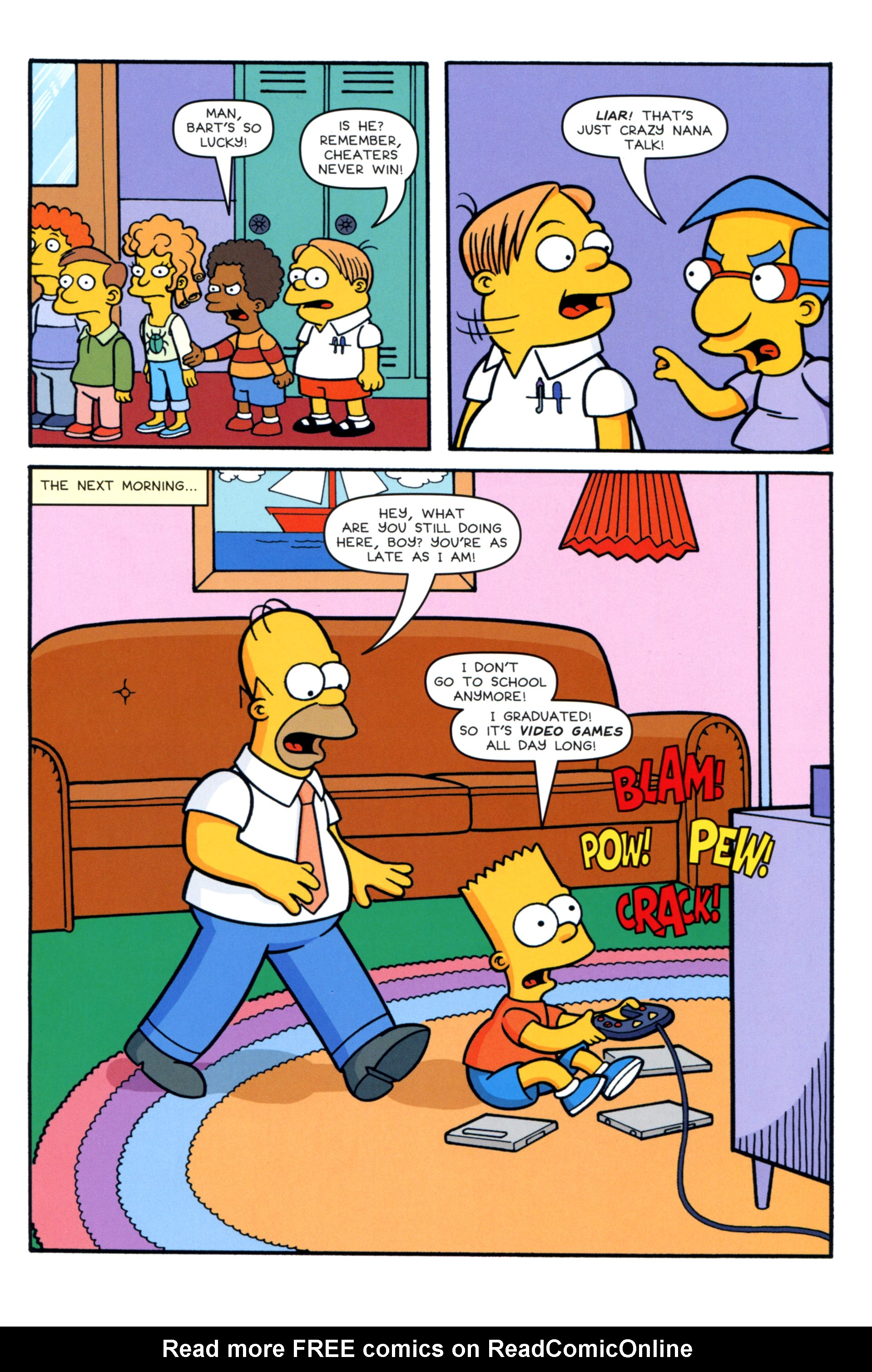 Read online Simpsons Comics comic -  Issue #202 - 10