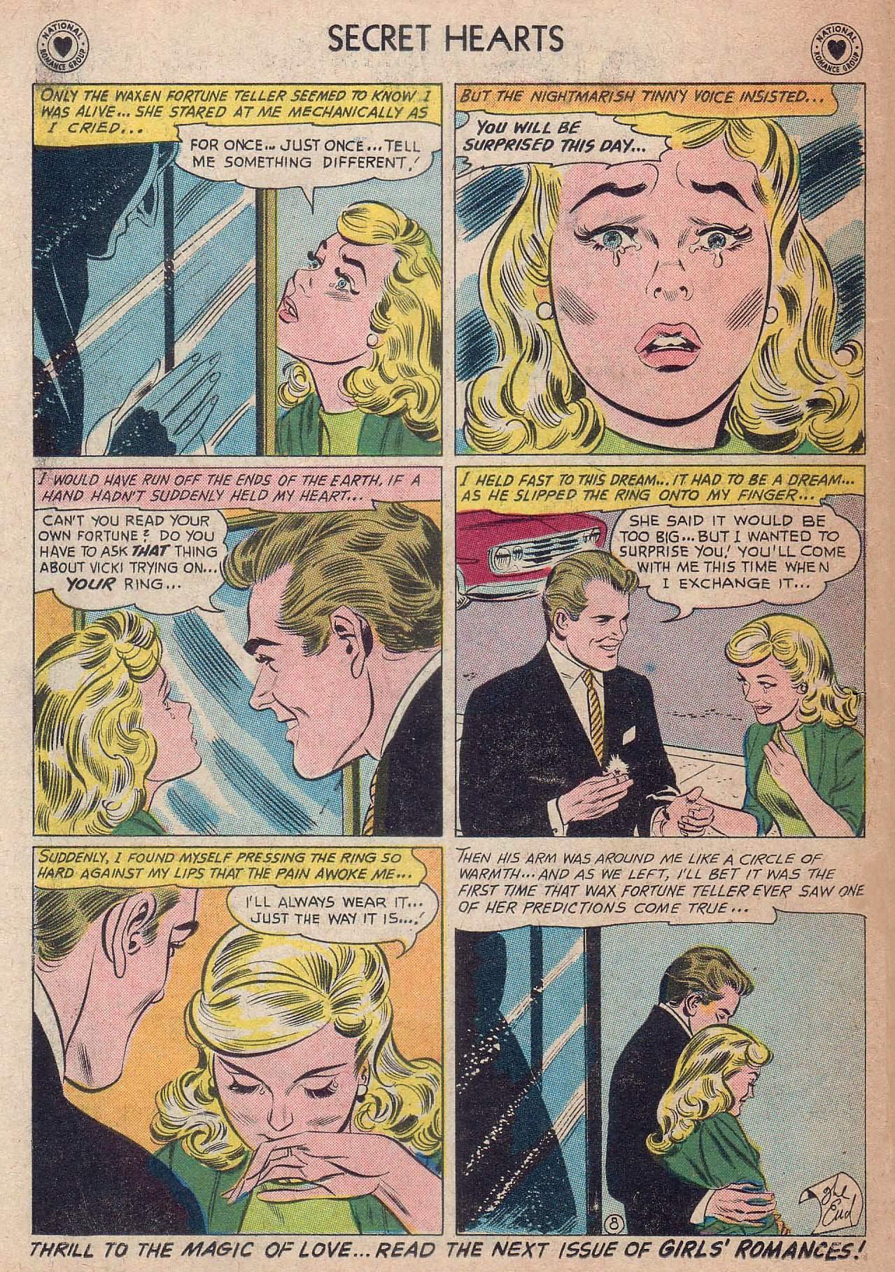 Read online Secret Hearts comic -  Issue #73 - 34