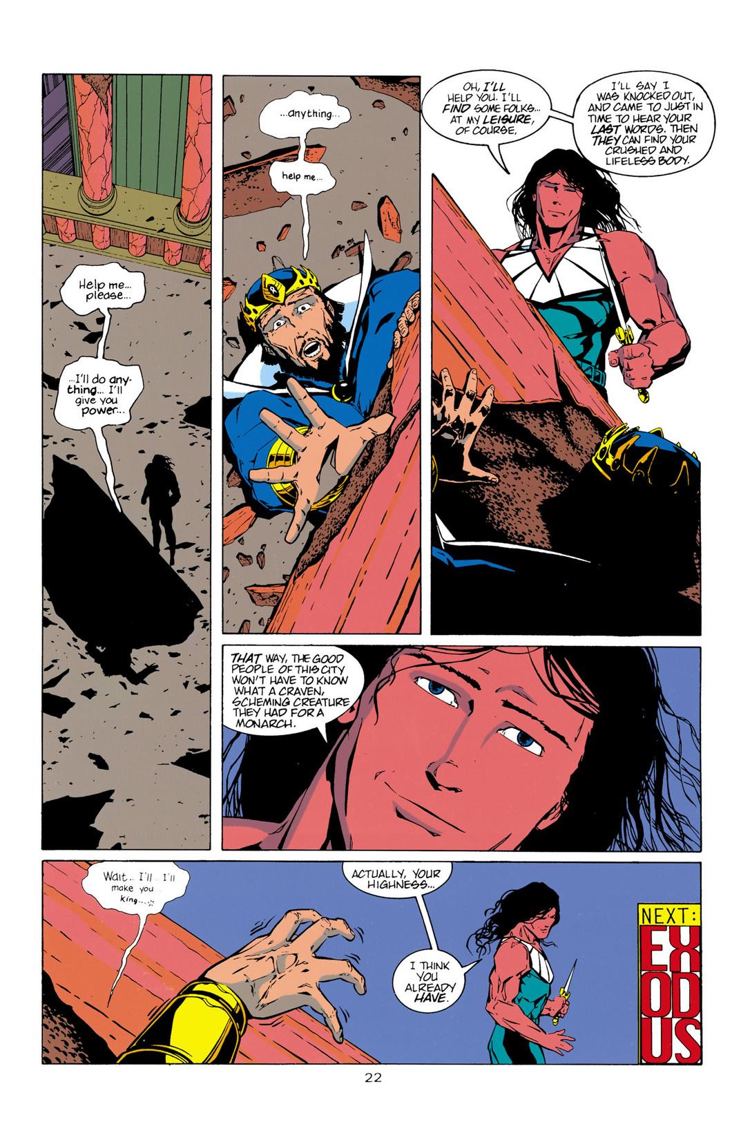 Read online Aquaman (1994) comic -  Issue #10 - 23