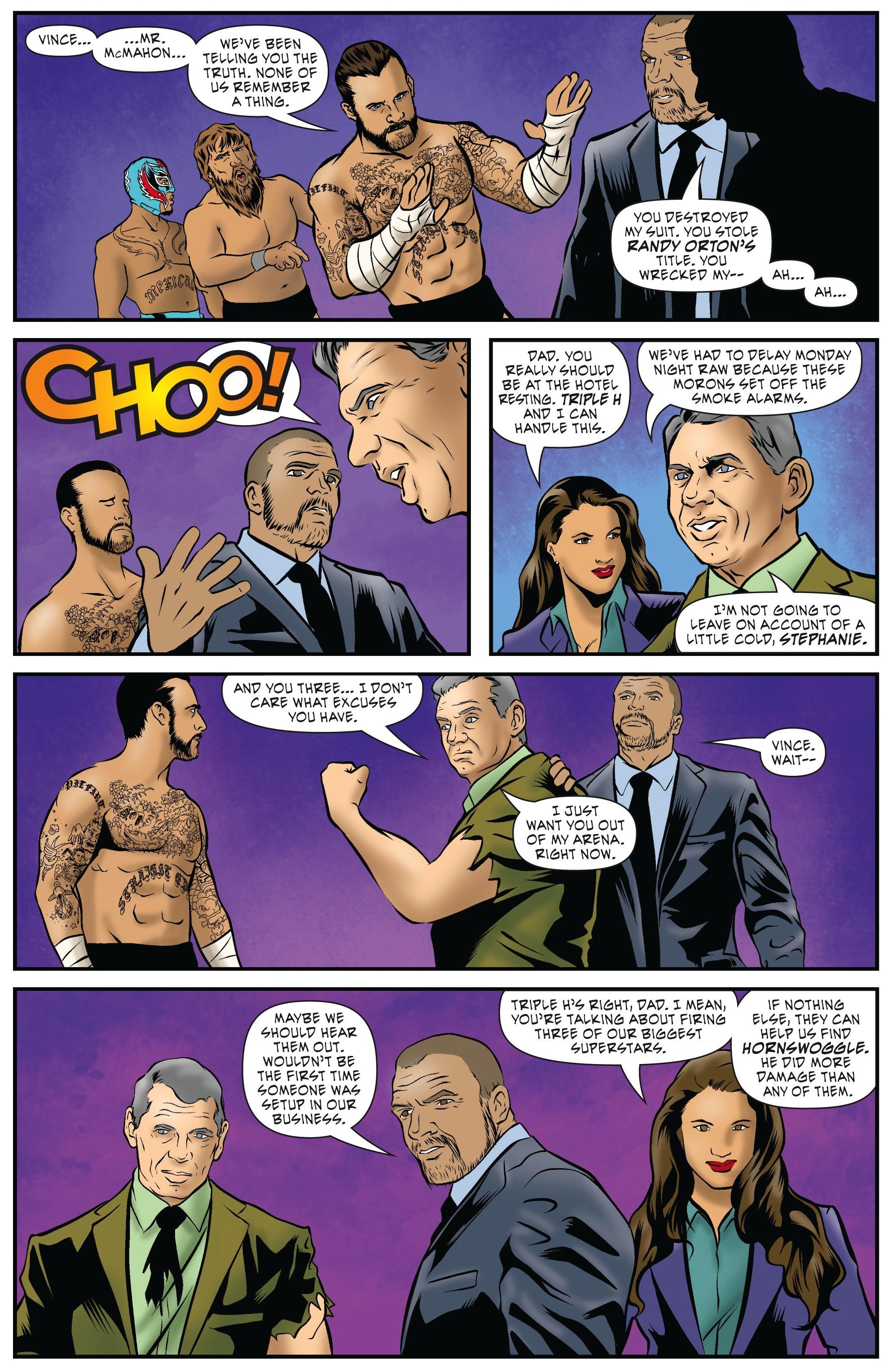 Read online WWE Superstars comic -  Issue #5 - 6