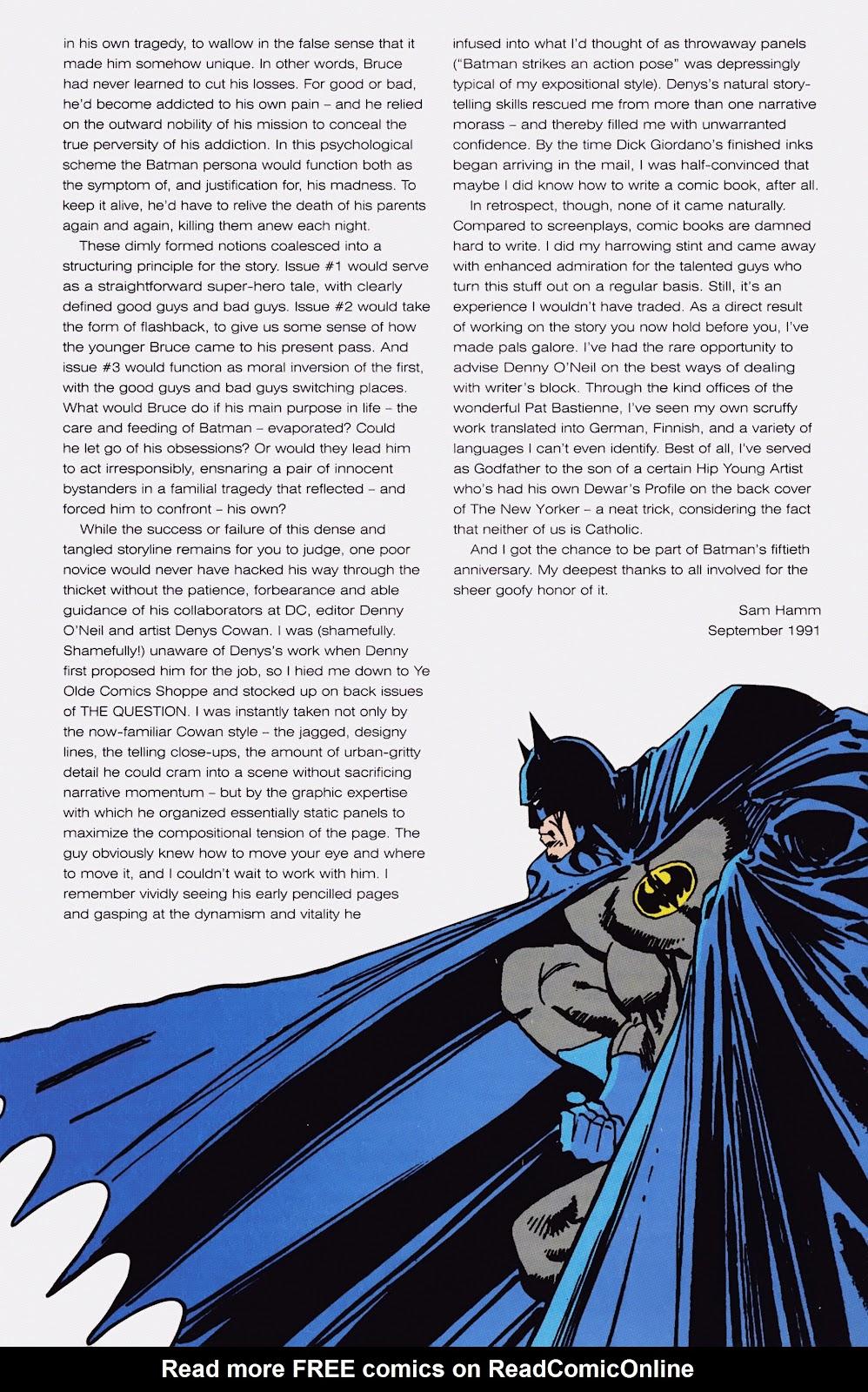 Read online Detective Comics (1937) comic -  Issue # _TPB Batman - Blind Justice (Part 1) - 6