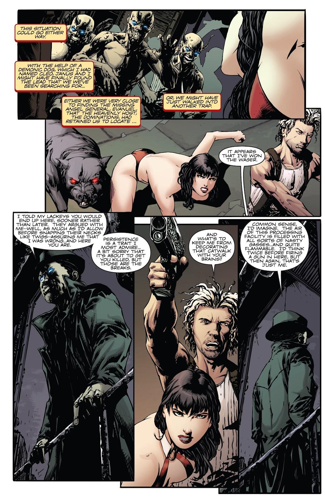 Read online Vampirella Strikes comic -  Issue #6 - 4