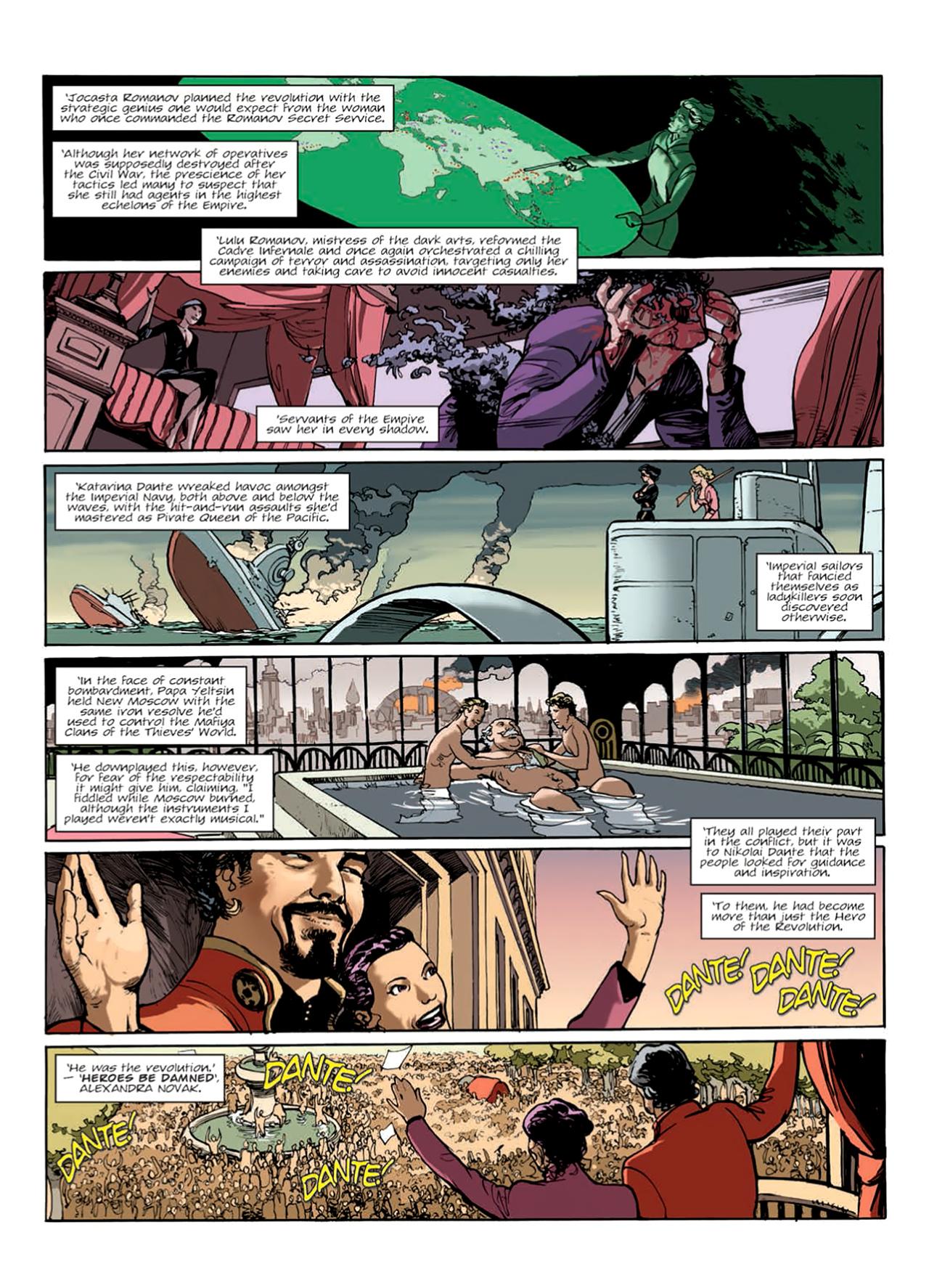 Read online Nikolai Dante comic -  Issue # TPB 9 - 134