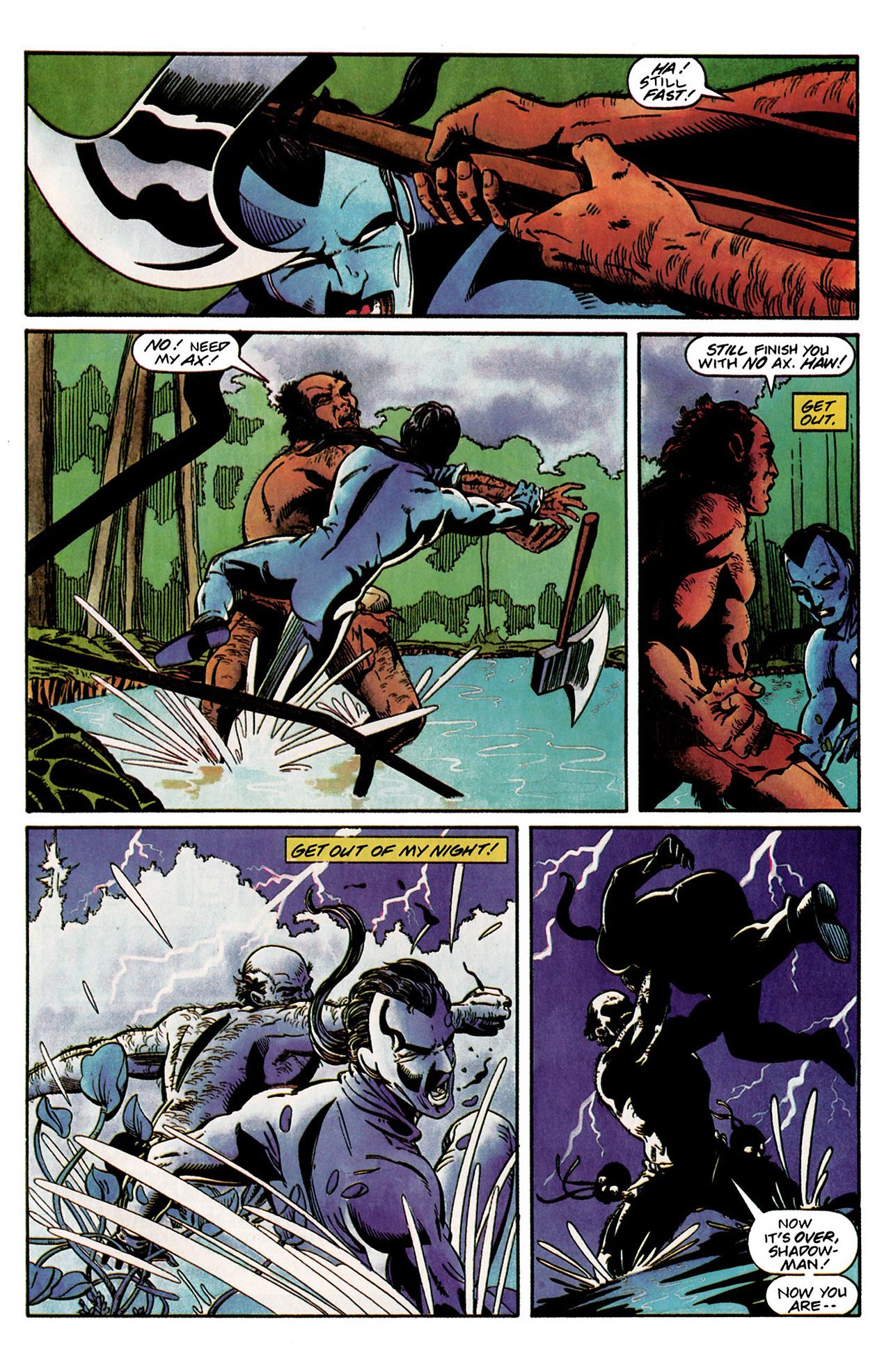 Read online Shadowman (1992) comic -  Issue #2 - 20