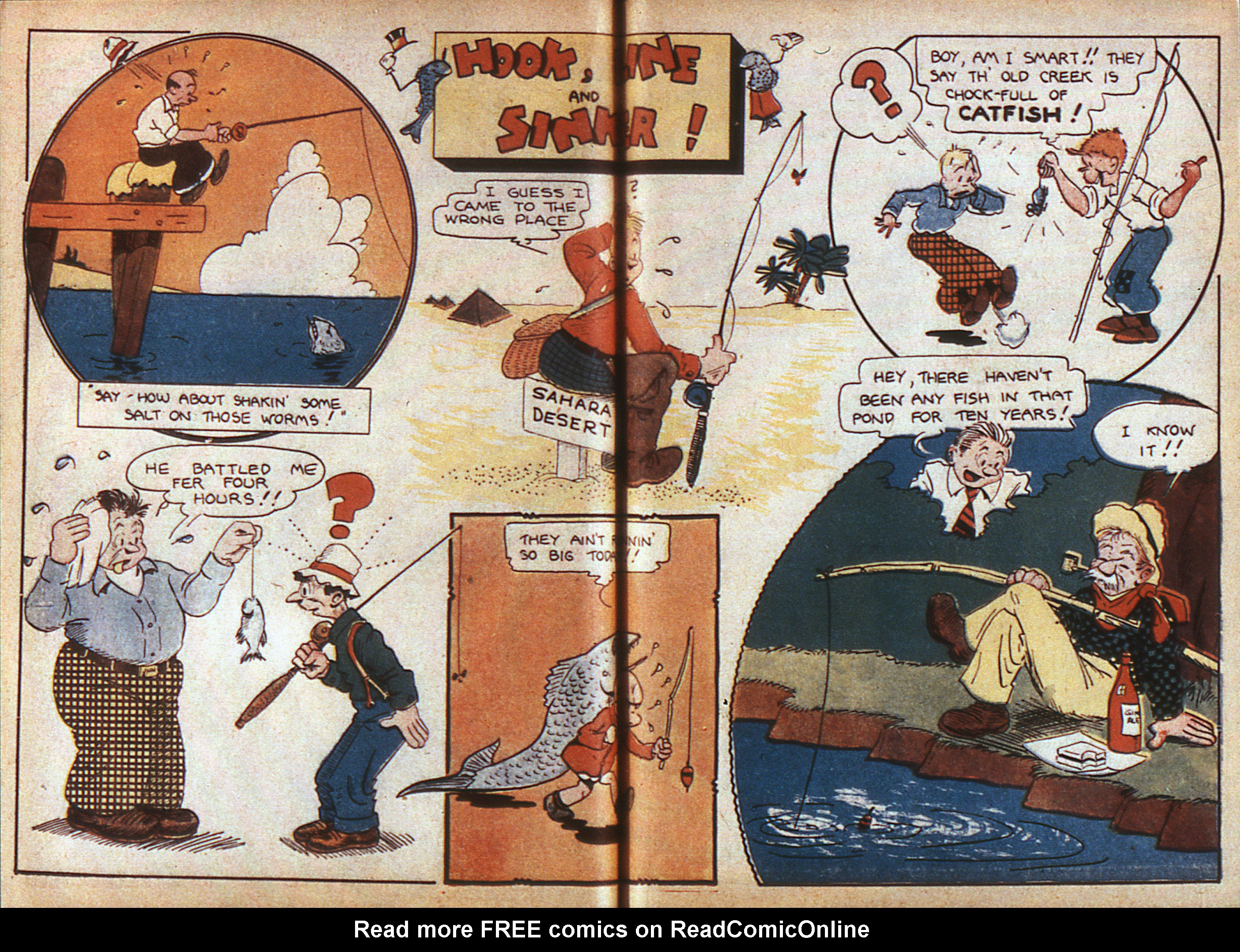 Read online Adventure Comics (1938) comic -  Issue #6 - 35