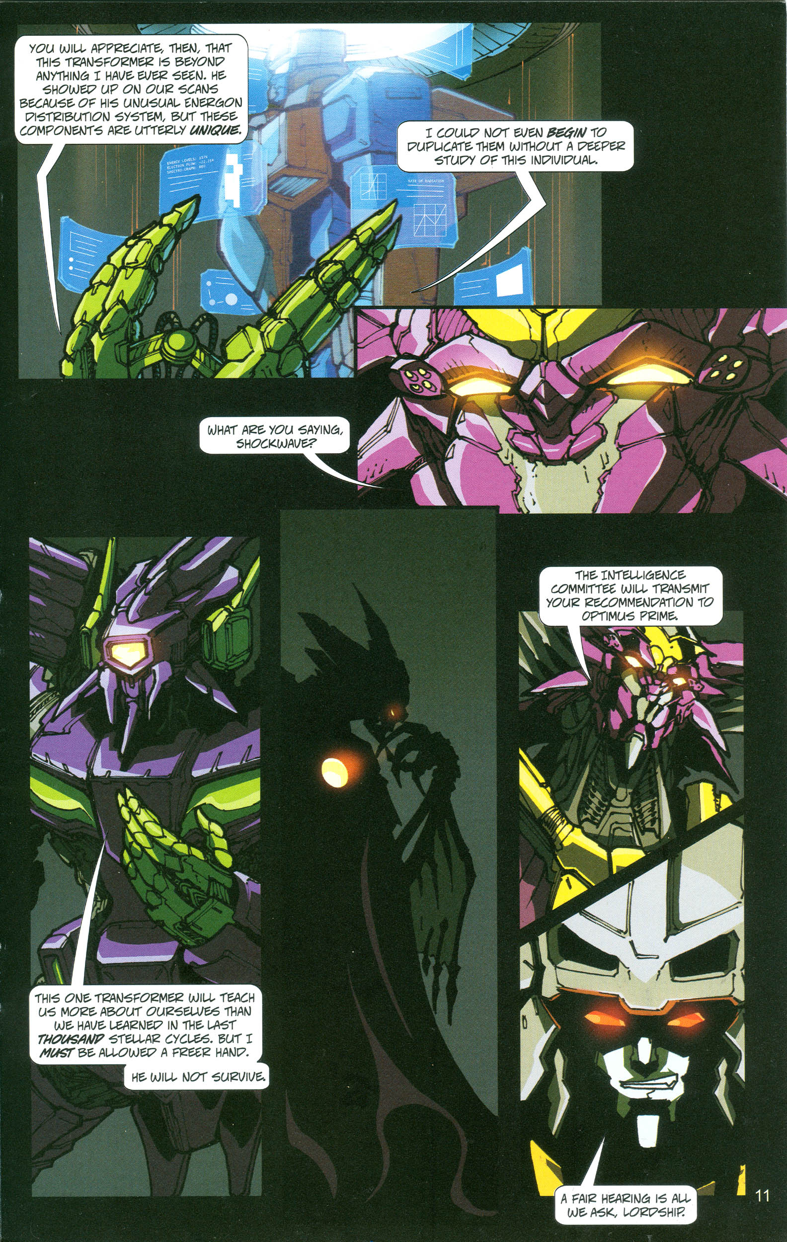 Read online Transformers: Collectors' Club comic -  Issue #21 - 11