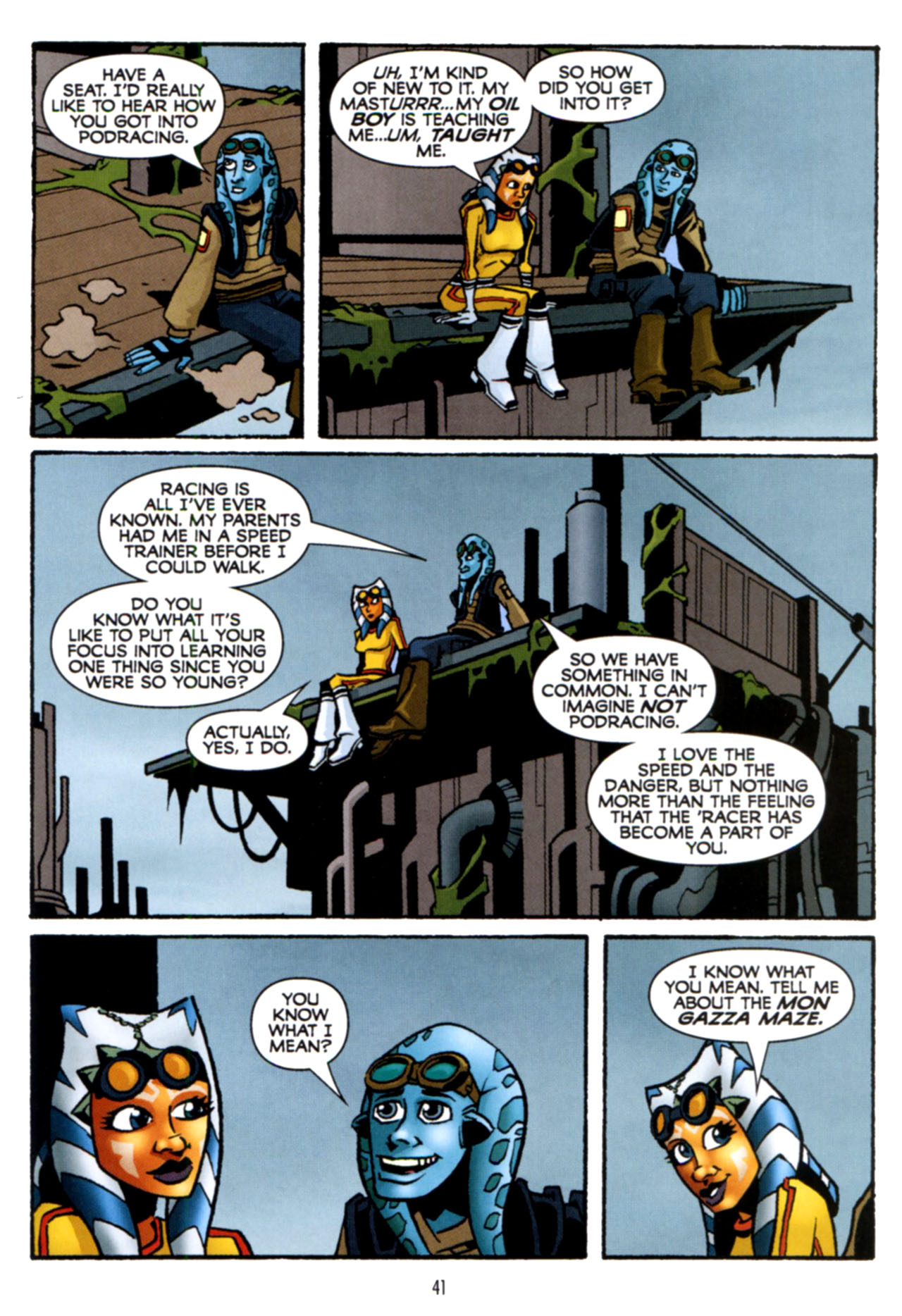 Read online Star Wars: The Clone Wars - Crash Course comic -  Issue # Full - 42