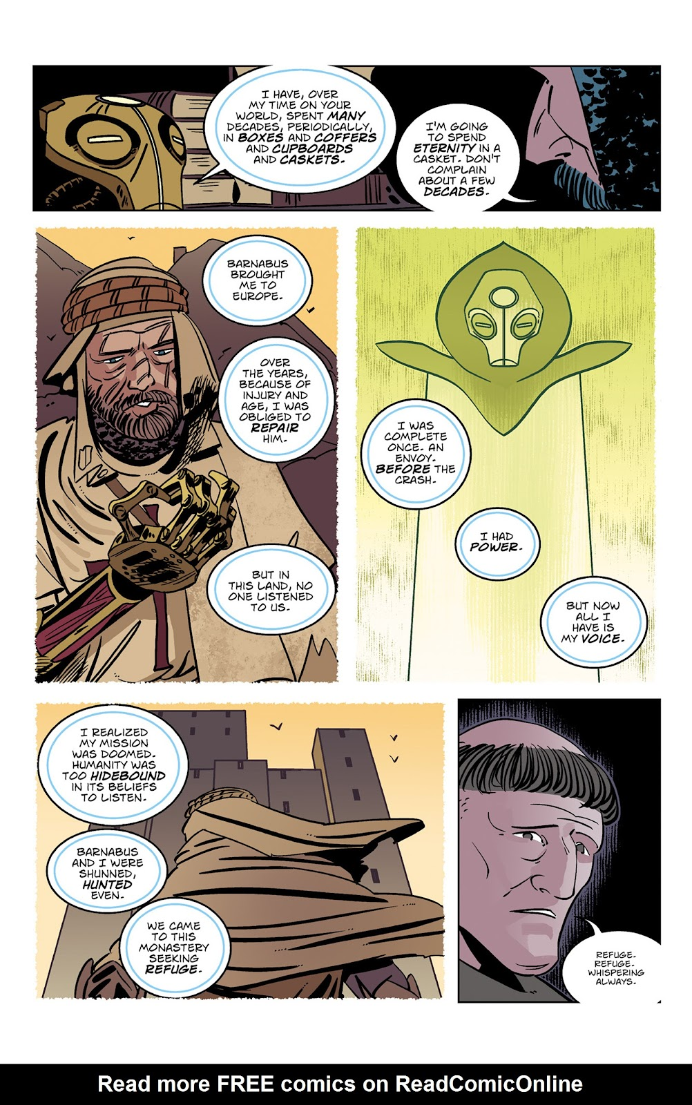 Read online Dark Ages comic -  Issue #3 - 20
