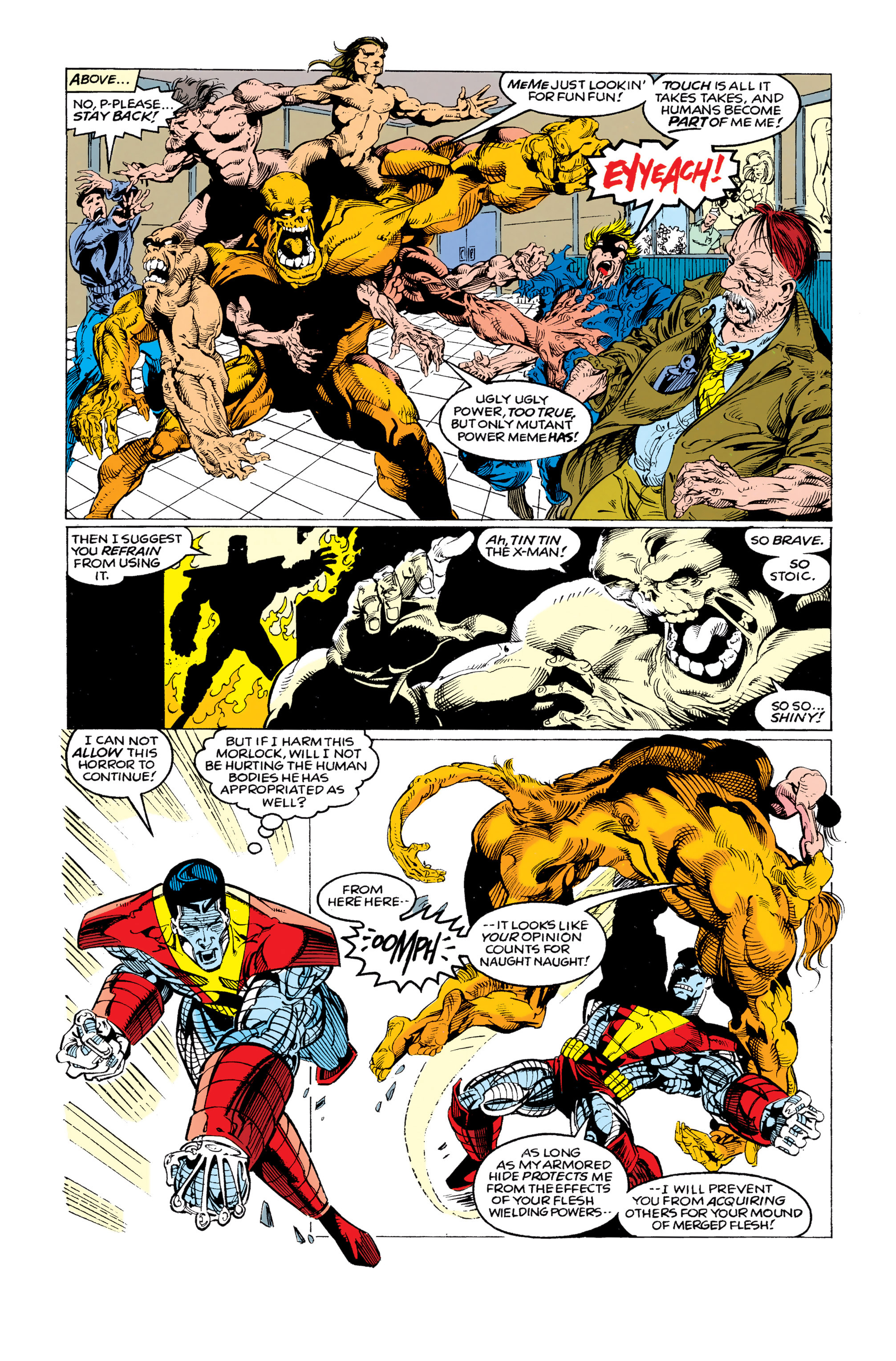 Read online Uncanny X-Men (1963) comic -  Issue #292 - 9
