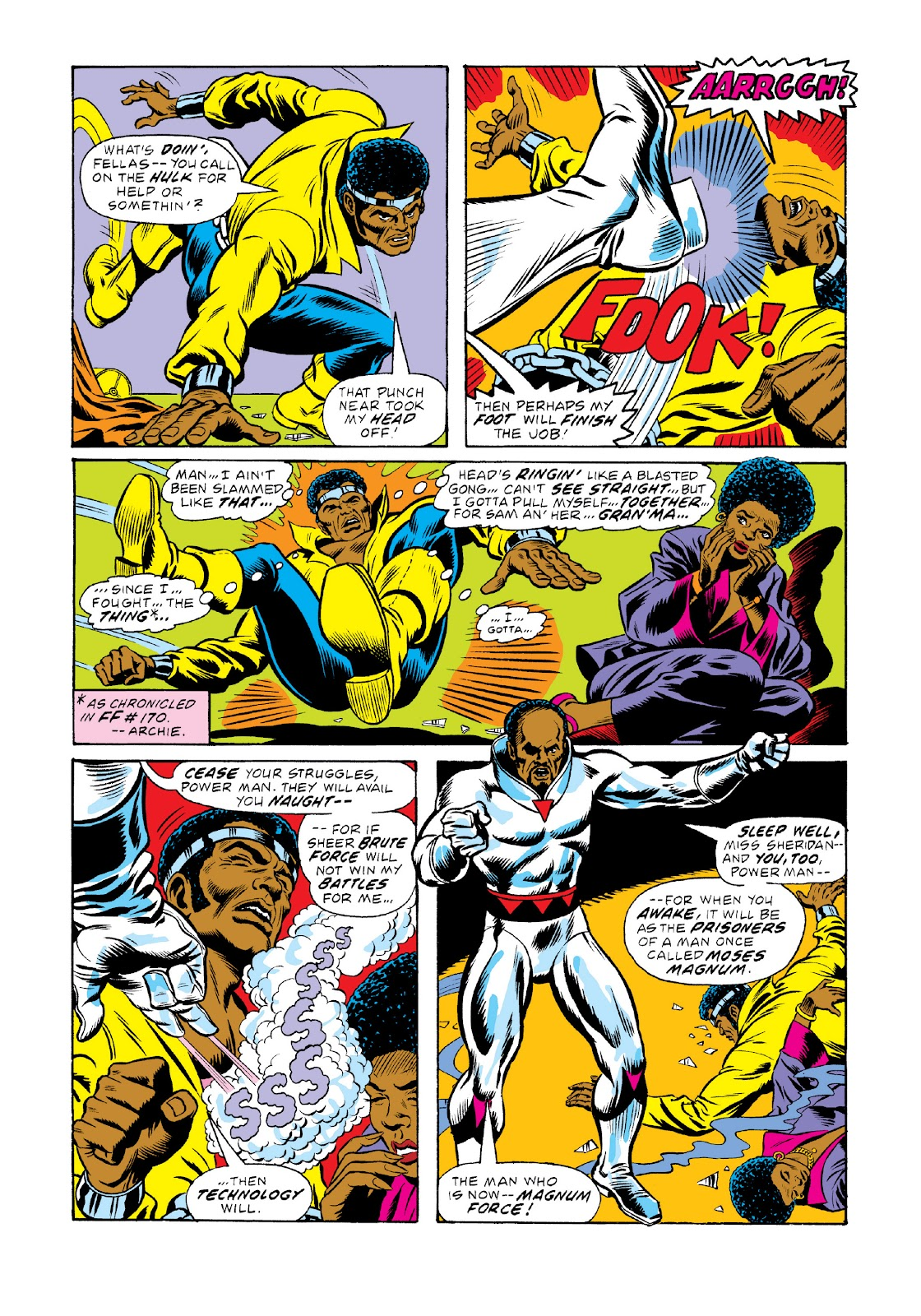 Read online Marvel Masterworks: Luke Cage, Power Man comic -  Issue # TPB 3 (Part 1) - 89