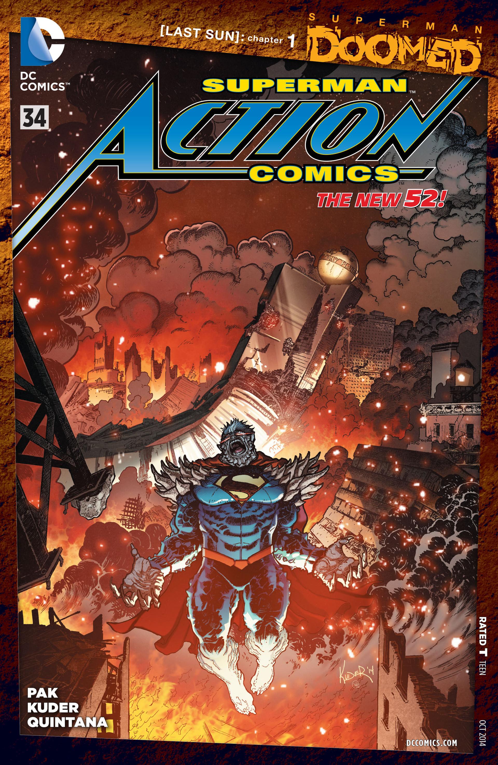 Action Comics (2011) 34 Page 1