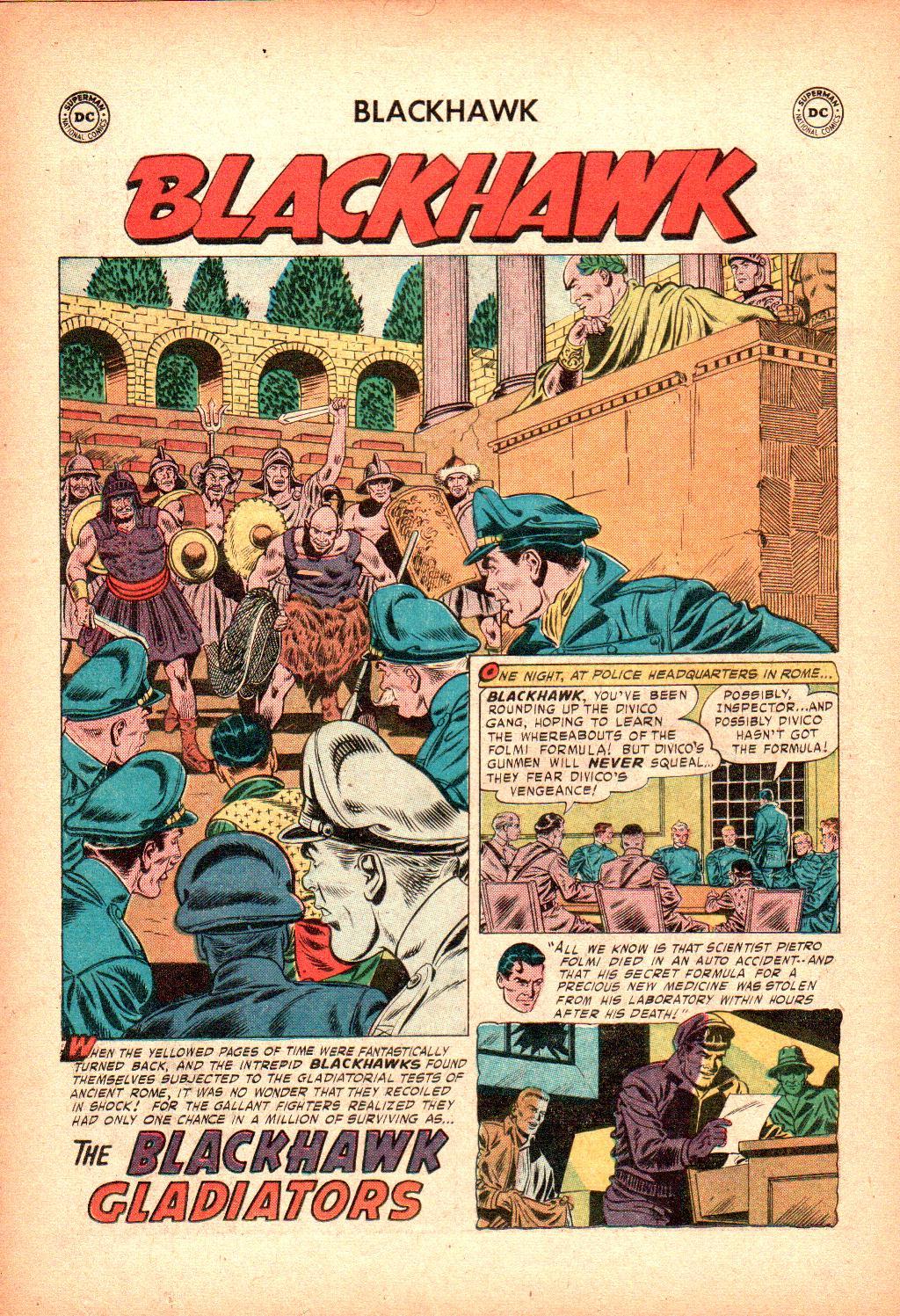 Blackhawk (1957) Issue #128 #21 - English 14