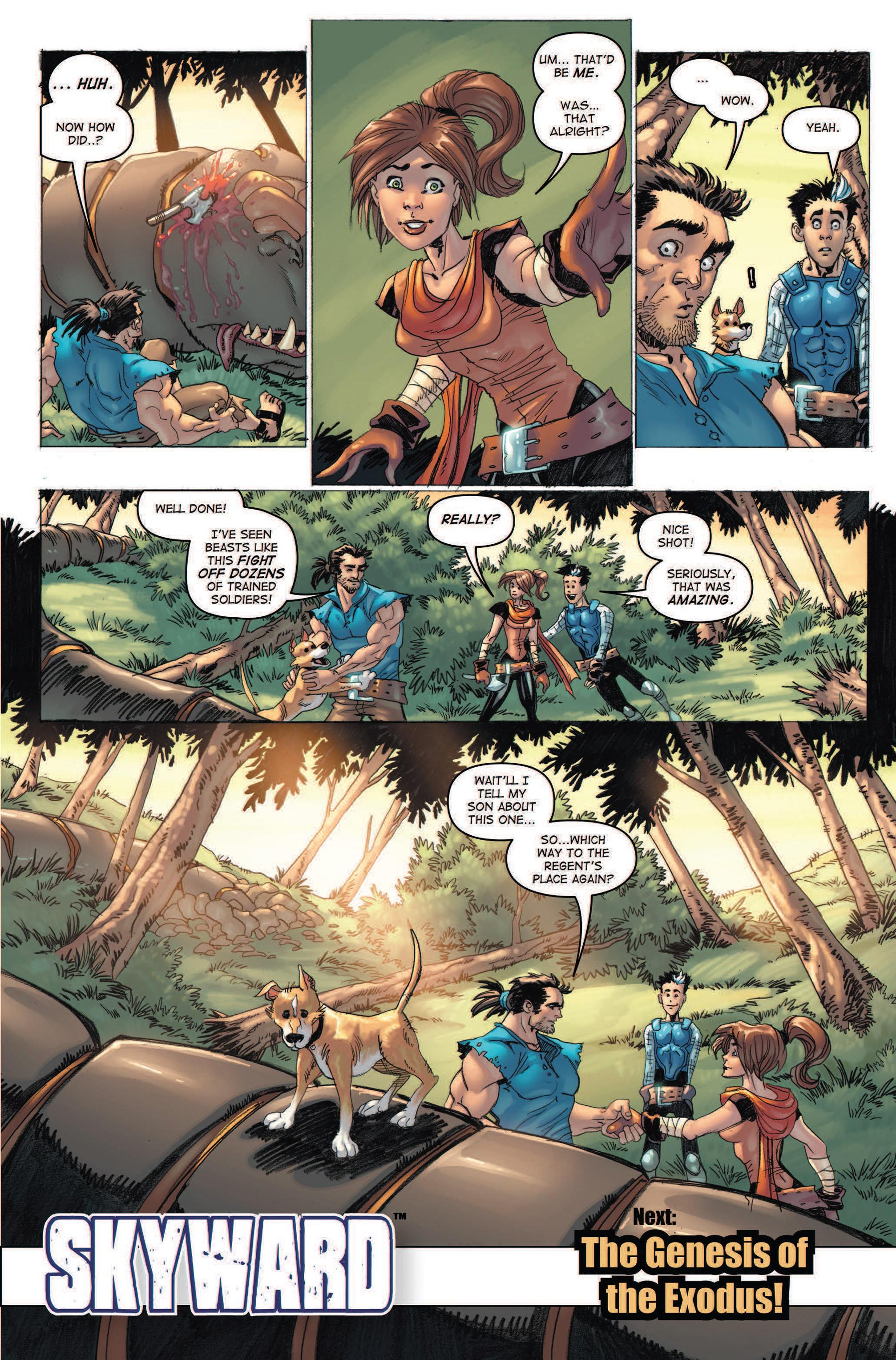 Read online Skyward comic -  Issue #2 - 30