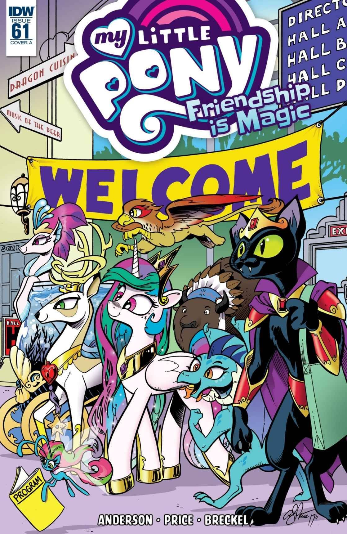 My Little Pony: Friendship is Magic issue 61 - Page 1