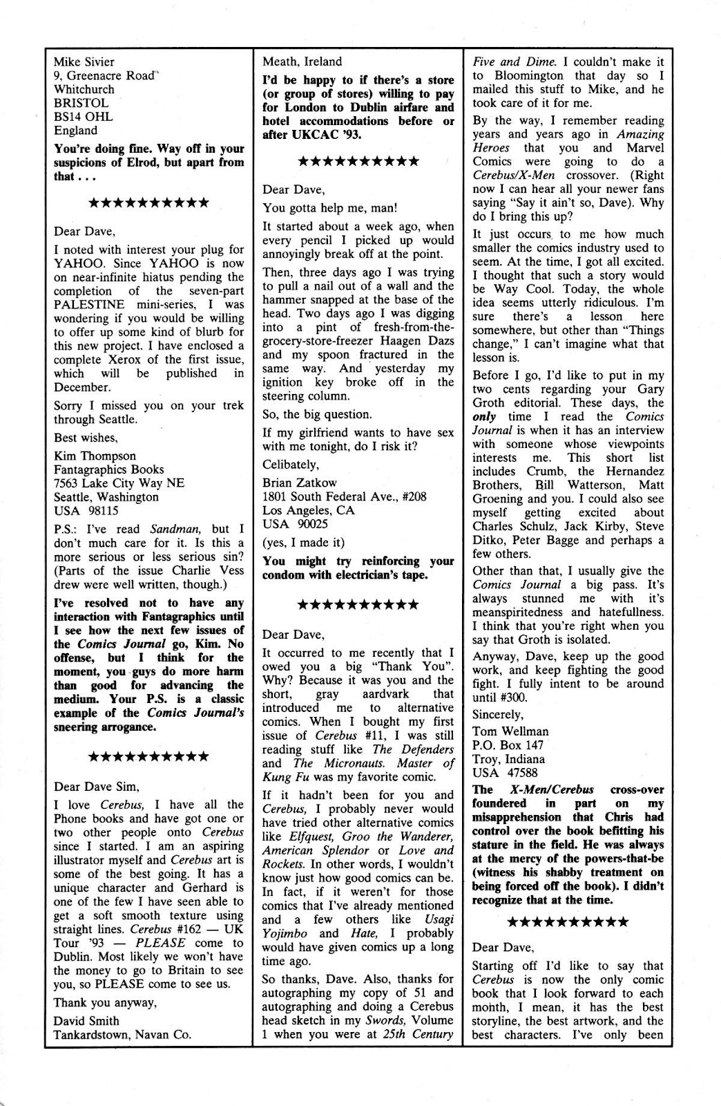 Cerebus Issue #165 #164 - English 27