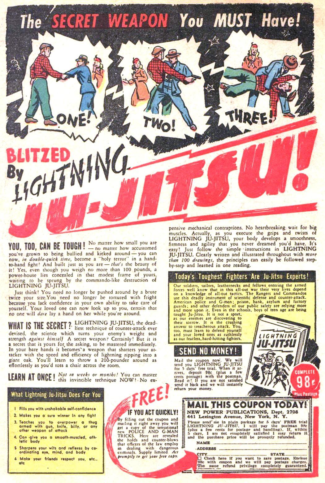 Read online Sensation (Mystery) Comics comic -  Issue #20 - 58