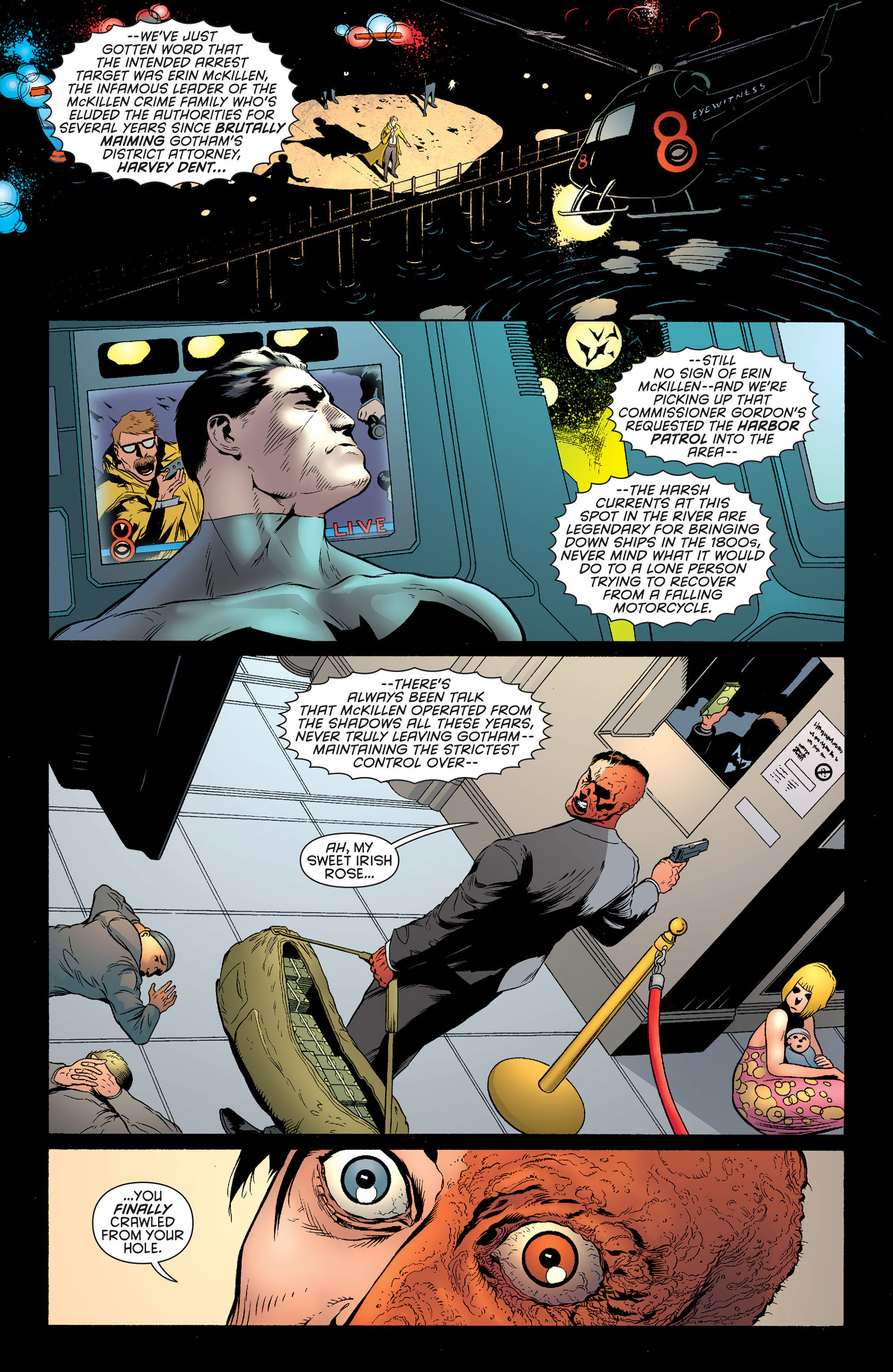 Read online Batman and Robin (2011) comic -  Issue #24 - Batman and Two-Face - 14