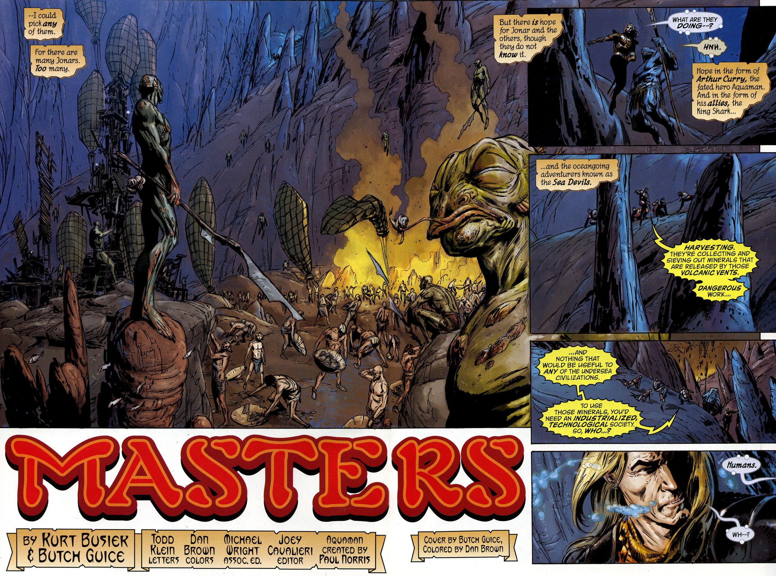 Read online Aquaman: Sword of Atlantis comic -  Issue #44 - 3