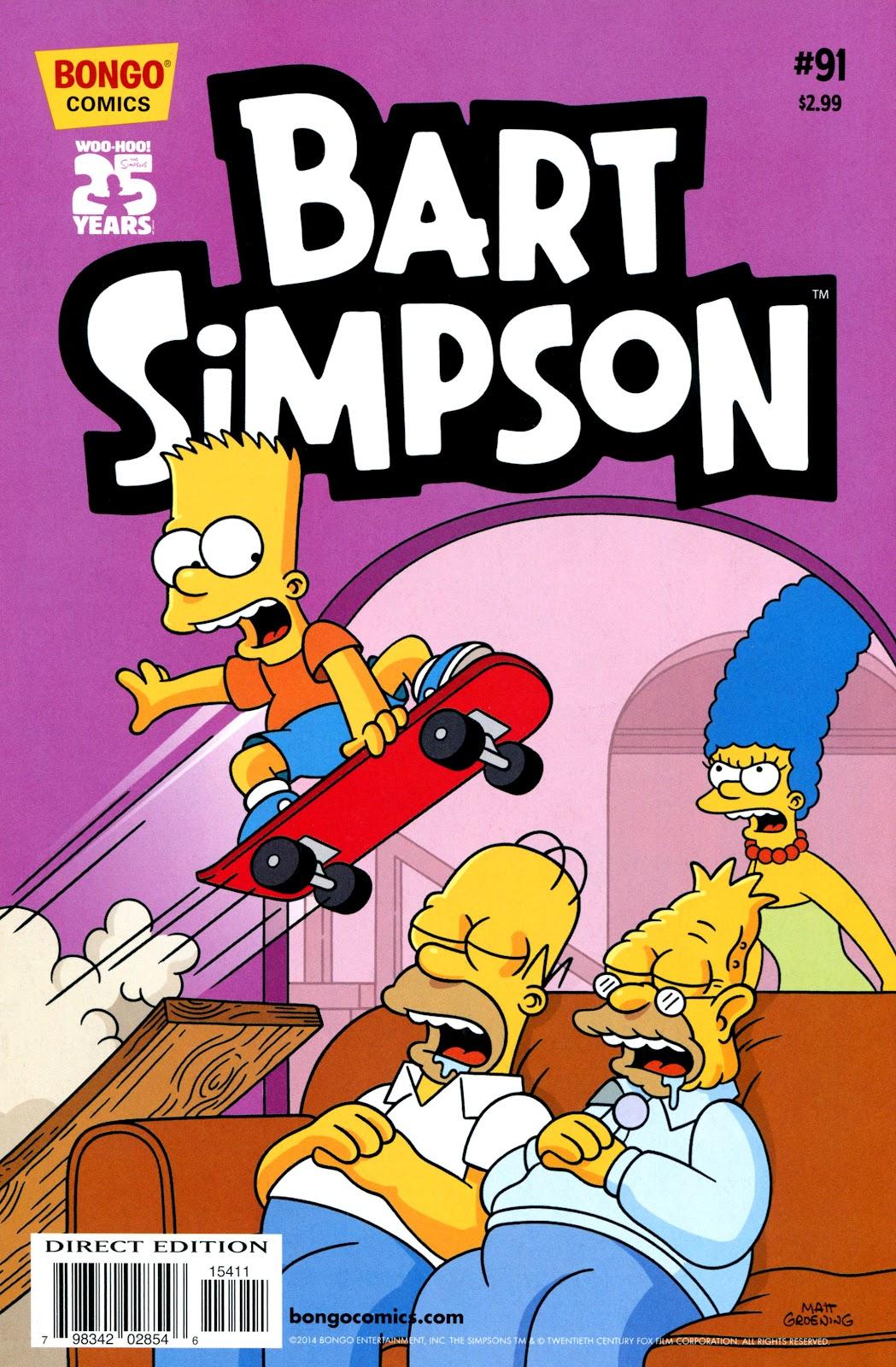 Simpsons Comics Presents Bart Simpson 91 Page 1