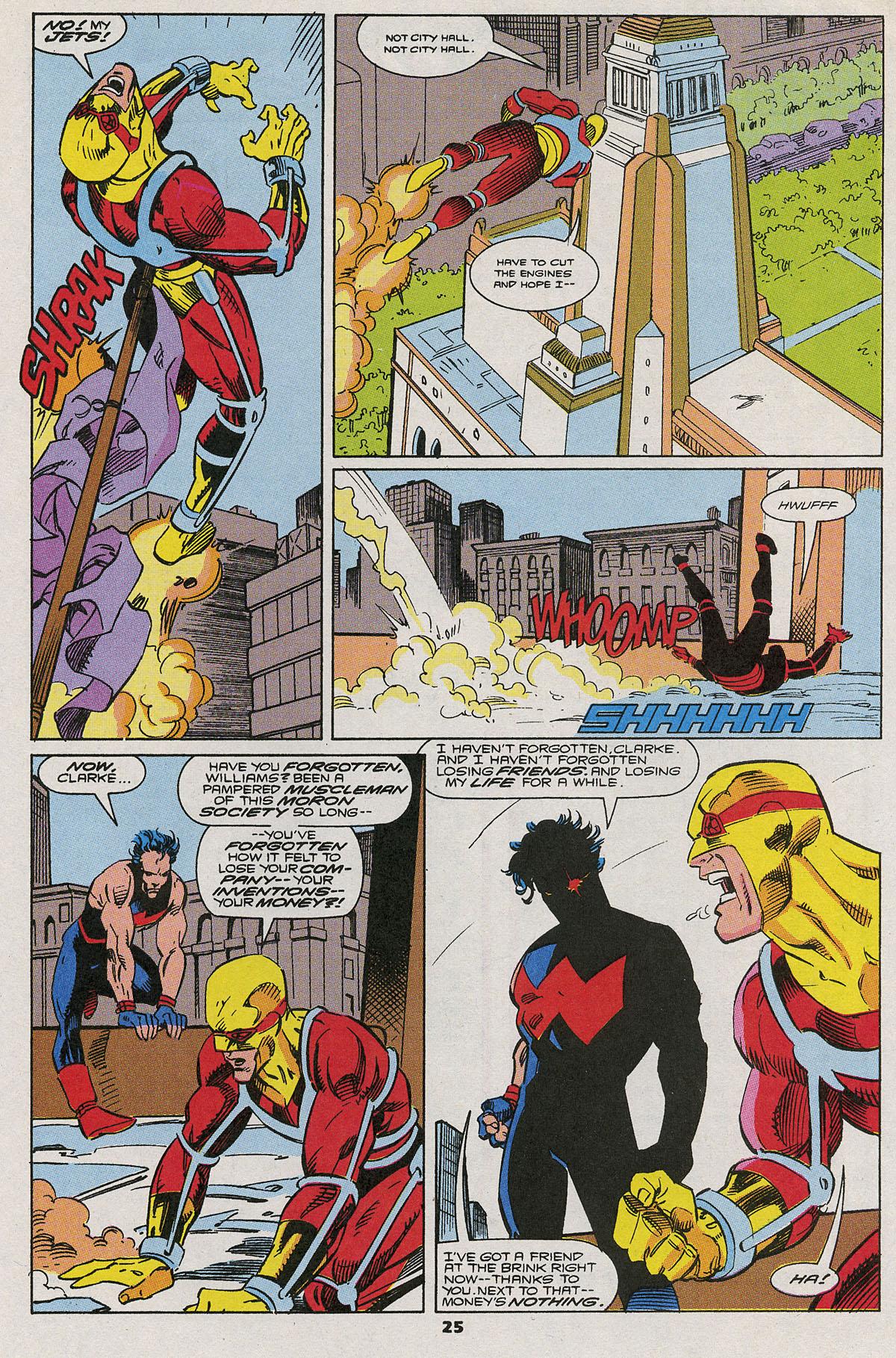 Read online Wonder Man (1991) comic -  Issue #6 - 20