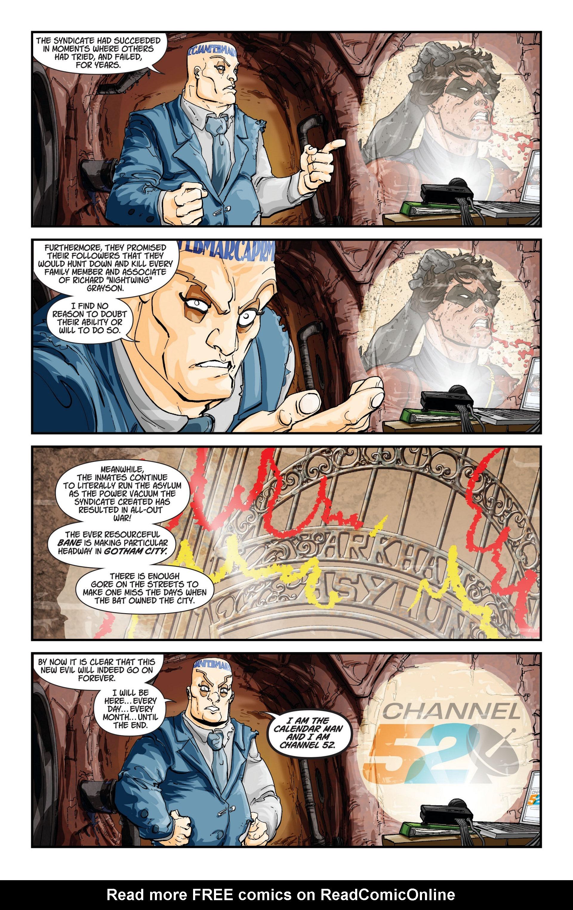 Read online Trinity of Sin: The Phantom Stranger comic -  Issue #12 - 23