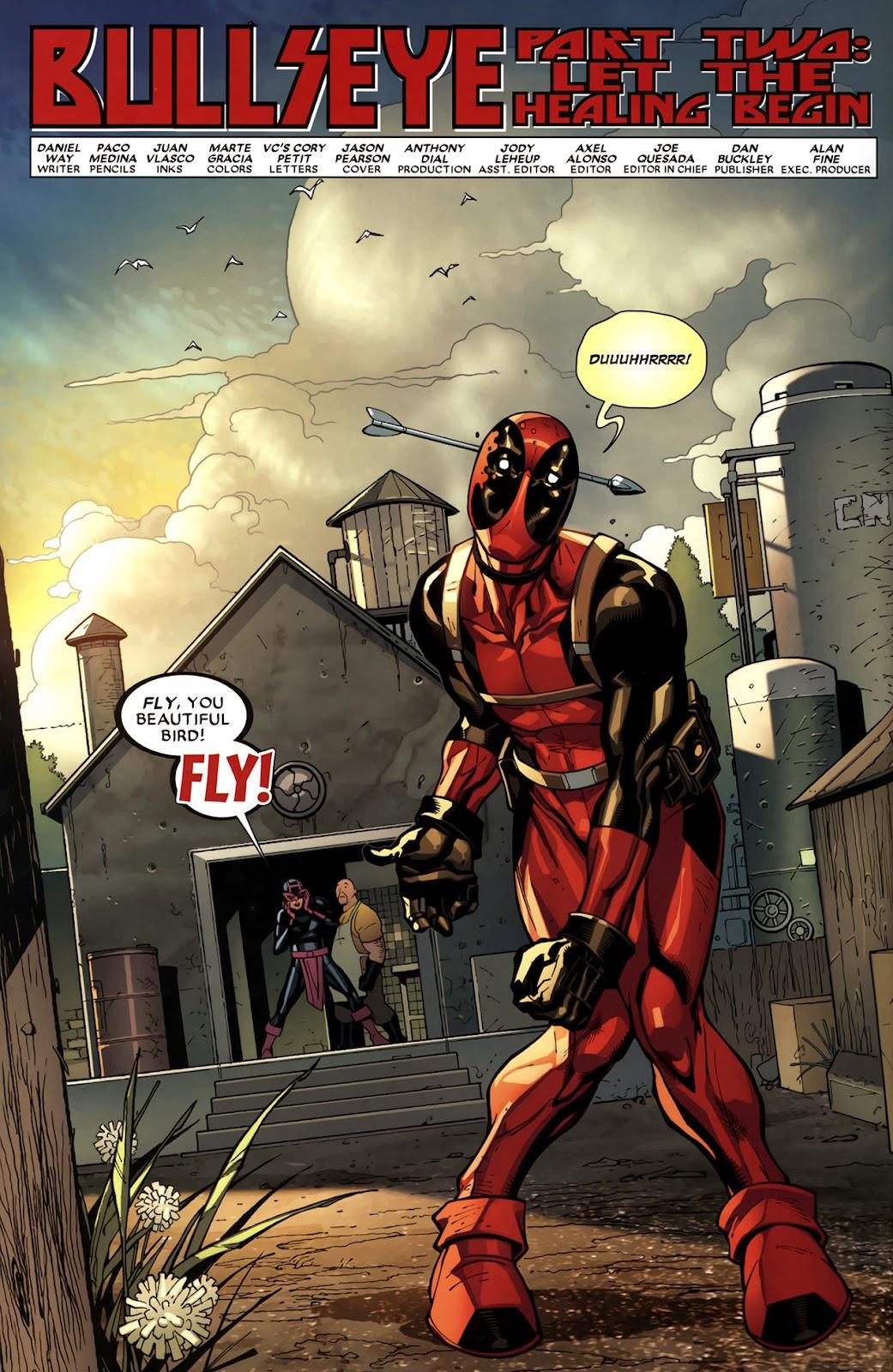 Read online Deadpool (2008) comic -  Issue #11 - 5