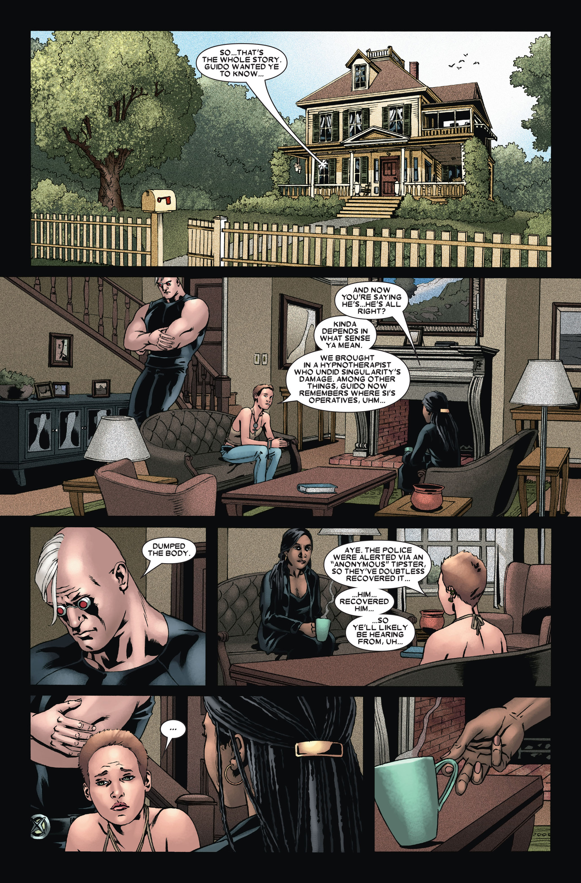 Read online X-Factor (2006) comic -  Issue #14 - 11