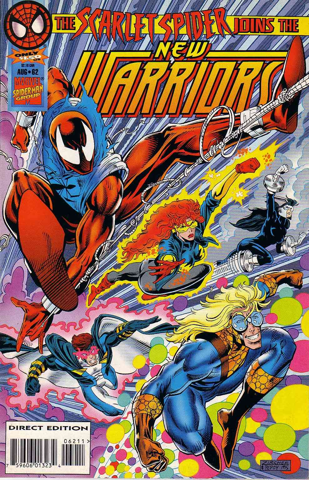 The New Warriors Issue #62 #66 - English 1