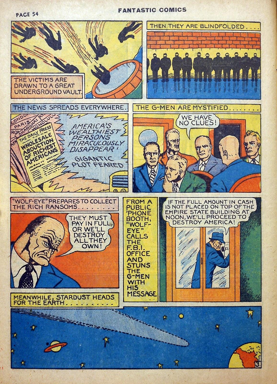 Read online Fantastic Comics comic -  Issue #5 - 55